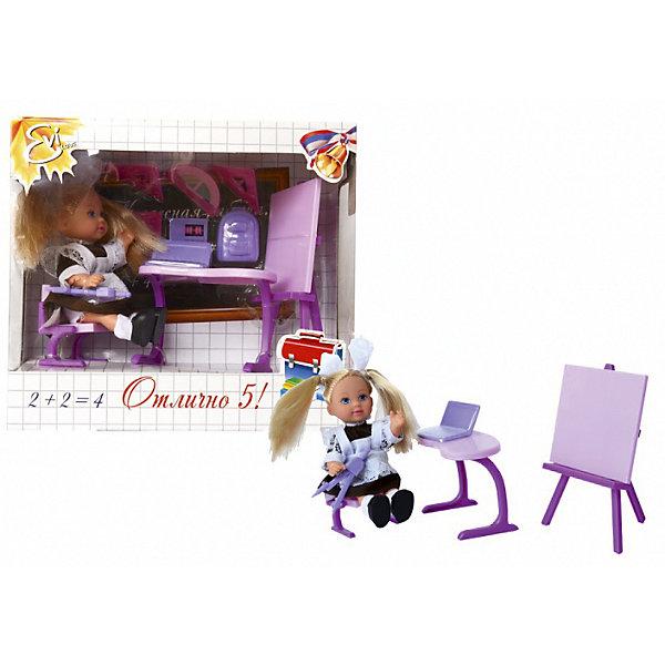 Кукла Еви-школьница, SimbaКуклы<br>Характеристики товара:<br><br>- цвет: разноцветный;<br>- материал: пластик;<br>- возраст: от трех лет;<br>- комплектация: кукла, одежда, фигурка животного, аксессуары;<br>- высота куклы: 12 см.<br><br>Эта симпатичная кукла Еви от известного бренда приводит детей в восторг! Какая девочка сможет отказаться поиграть с куклами, которые дополнены набором в виде полезных предметов?! В набор также входят аксессуары для игр с куклой на школьную тематику. Игрушка очень качественно выполнена, поэтому она станет замечательным подарком ребенку. <br>Продается набор в красивой удобной упаковке. Игры с куклами помогают девочкам развить важные навыки и отработать модели социального взаимодействия. Изделие произведено из высококачественного материала, безопасного для детей.<br><br>Куклу Еви-школьница от бренда Simba можно купить в нашем интернет-магазине.<br>Ширина мм: 180; Глубина мм: 160; Высота мм: 90; Вес г: 100; Возраст от месяцев: 36; Возраст до месяцев: 120; Пол: Женский; Возраст: Детский; SKU: 5119532;