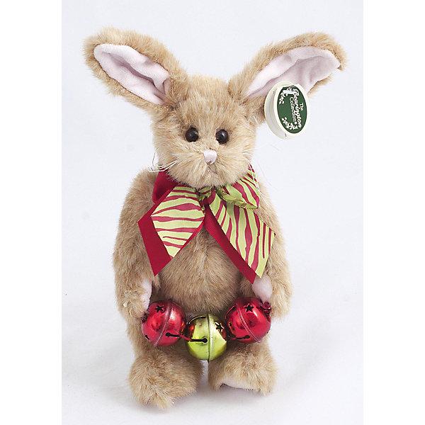 Зайка, 25 см, BearingtonМягкие игрушки животные<br>Зайка, 25 см, Bearington (Берингтон).<br><br>Характеристики:<br><br>- Высота игрушки: 25 см.<br>- Материал: искусственный мех, текстиль, набивка - полиэфирное волокно<br><br>Симпатичная Зайка с ярким разноцветным бантом на шее от американской компании Bearington (Берингтон) покорит Вас обаянием и красотой. Игрушка непременно вызовет положительные эмоции и подарит Вам свою любовь и тепло. Зайка изготовлена из нежного высококачественного искусственного меха. Она держит в лапах гирлянду, которая, если потрясти зайку, издает звон. У зайки очаровательная мордочка с длинными усиками и красивые длинные ушки, внутри которых вшит проволочный каркас, так что ушки можно загибать и разгибать. Зайка выполнена в лучших традициях классических мишек Тедди - ее лапки крепятся таким образом, что их можно вращать по отношению к туловищу на 360 градусов, и придавать игрушке игрушке разнообразные позы. Играть с зайкой от Беарингтон также интересно, как и с куклами. Благодаря чудесному образу и высококачественному исполнению зайка станет лучшим подарком для девочек и девушек с утонченным изысканным вкусом и для ценителей коллекционных игрушек.<br><br>Зайку, 25 см, Bearington (Берингтон) можно купить в нашем интернет-магазине.<br>Ширина мм: 70; Глубина мм: 60; Высота мм: 250; Вес г: 160; Возраст от месяцев: 36; Возраст до месяцев: 2147483647; Пол: Унисекс; Возраст: Детский; SKU: 5119973;
