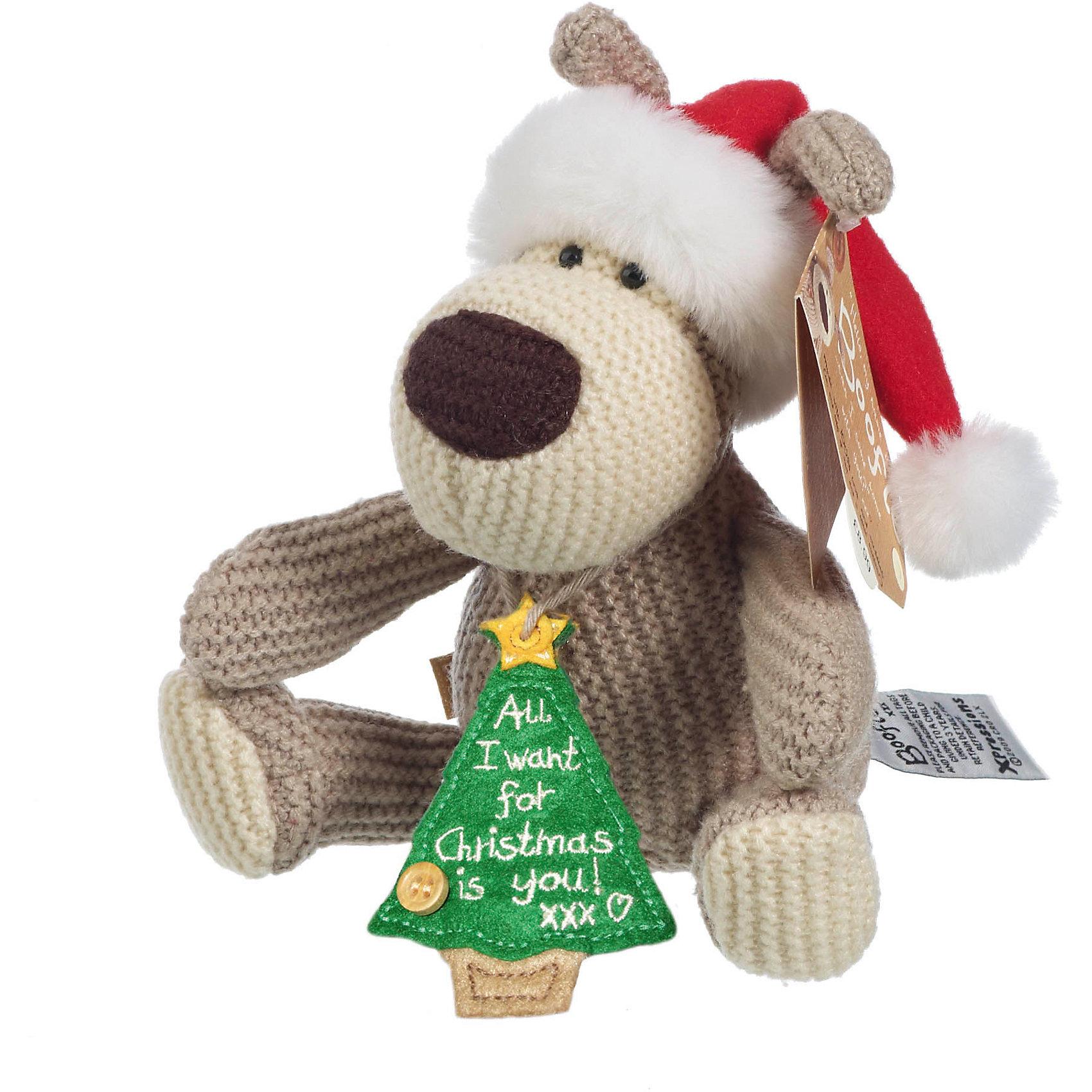 Собачка, 28 см, BoofleСобачка, 28 см, Boofle.<br><br>Характеристики:<br><br>- Размер: 28 см.<br>- Материал: текстиль<br><br>Симпатяга Буффи в колпаке Санты с подвеской елочкой станет отличным подарком на Рождество и Новый год. Добрая мордочка Буффи несомненно вызовет улыбку и поднимет настроение. Ведь 100 % любви, теплая шерсть и одна маленькая пуговка, из которых сделан этот персонаж, никого не оставят равнодушным!<br><br>Собачку, 28 см, Boofle можно купить в нашем интернет-магазине.<br><br>Ширина мм: 110<br>Глубина мм: 80<br>Высота мм: 280<br>Вес г: 320<br>Возраст от месяцев: 36<br>Возраст до месяцев: 2147483647<br>Пол: Унисекс<br>Возраст: Детский<br>SKU: 5119974