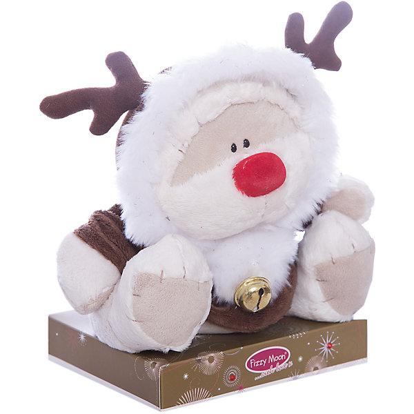 Мишка, 20 см, Fizzy MoonМягкие игрушки животные<br>Мишка, 20 см, Fizzy Moon (Физзи Мун).<br><br>Характеристики:<br><br>- Размер: 20 см.<br>- Материал: искусственный мех, текстиль<br><br>Сентиментальный медвежонок по имени Физзи Мун в костюме оленя с колокольчиком, сидящий на подставке, вызывает только положительные эмоции. Трогательный и обаятельный мишка порадует как детей, так и взрослых. У мишки умилительная смешная мордашка, забавный красный носик и черные как угольки глазки. Он изготовлен из высококачественных материалов. Fizzy Moon (Физзи Мун) всемирно известный бренд игрушек, который уже завоевал любовь и популярность! Добрый мишка Физзи Мун станет отличным подарком!<br><br>Мишку, 20 см, Fizzy Moon (Физзи Мун) можно купить в нашем интернет-магазине.<br><br>Ширина мм: 100<br>Глубина мм: 80<br>Высота мм: 210<br>Вес г: 280<br>Возраст от месяцев: 36<br>Возраст до месяцев: 2147483647<br>Пол: Унисекс<br>Возраст: Детский<br>SKU: 5119978