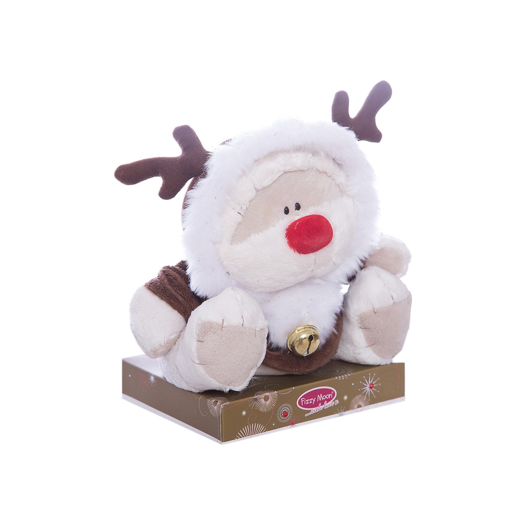 Мишка, 20 см, Fizzy MoonМедвежата<br>Мишка, 20 см, Fizzy Moon (Физзи Мун).<br><br>Характеристики:<br><br>- Размер: 20 см.<br>- Материал: искусственный мех, текстиль<br><br>Сентиментальный медвежонок по имени Физзи Мун в костюме оленя с колокольчиком, сидящий на подставке, вызывает только положительные эмоции. Трогательный и обаятельный мишка порадует как детей, так и взрослых. У мишки умилительная смешная мордашка, забавный красный носик и черные как угольки глазки. Он изготовлен из высококачественных материалов. Fizzy Moon (Физзи Мун) всемирно известный бренд игрушек, который уже завоевал любовь и популярность! Добрый мишка Физзи Мун станет отличным подарком!<br><br>Мишку, 20 см, Fizzy Moon (Физзи Мун) можно купить в нашем интернет-магазине.<br><br>Ширина мм: 100<br>Глубина мм: 80<br>Высота мм: 210<br>Вес г: 280<br>Возраст от месяцев: 36<br>Возраст до месяцев: 2147483647<br>Пол: Унисекс<br>Возраст: Детский<br>SKU: 5119978