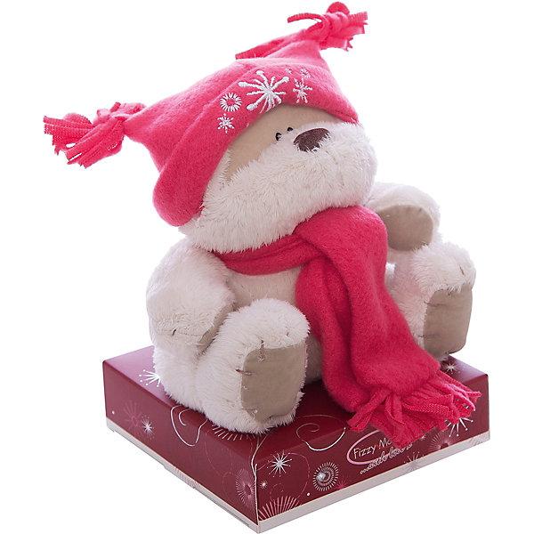 Мишка, 13 см, Fizzy MoonМягкие игрушки животные<br>Мишка, 13 см, Fizzy Moon (Физзи Мун).<br><br>Характеристики:<br><br>- Размер: 13 см.<br>- Материал: искусственный мех, текстиль<br><br>Сентиментальный медвежонок по имени Физзи Мун в красной шапке и шарфе, с неизменной розовой пуговичкой на круглом животике, сидящий на подставке, вызывает только положительные эмоции. Трогательный и обаятельный мишка порадует как детей, так и взрослых. У мишки умилительная смешная мордашка, забавный носик и черные как угольки глазки. Он изготовлен из высококачественных материалов. Fizzy Moon (Физзи Мун) всемирно известный бренд игрушек, который уже завоевал любовь и популярность! Добрый мишка Физзи Мун станет отличным подарком!<br><br>Мишку, 13 см, Fizzy Moon (Физзи Мун) можно купить в нашем интернет-магазине.<br><br>Ширина мм: 90<br>Глубина мм: 60<br>Высота мм: 140<br>Вес г: 160<br>Возраст от месяцев: 36<br>Возраст до месяцев: 2147483647<br>Пол: Женский<br>Возраст: Детский<br>SKU: 5119981