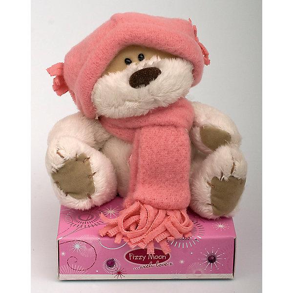 Мишка, 9 см, Fizzy MoonМягкие игрушки животные<br>Мишка, 9 см, Fizzy Moon (Физзи Мун).<br><br>Характеристики:<br><br>- Размер: 9 см.<br>- Материал: искусственный мех, текстиль<br><br>Сентиментальный медвежонок по имени Физзи Мун в розовом шарфе и шапке, сидящий на подставке, вызывает только положительные эмоции. Трогательный и обаятельный мишка порадует как детей, так и взрослых. У мишки умилительная смешная мордашка, забавный носик и черные как угольки глазки. Он изготовлен из высококачественных материалов. Fizzy Moon (Физзи Мун) всемирно известный бренд игрушек, который уже завоевал любовь и популярность! Добрый мишка Физзи Мун станет отличным подарком!<br><br>Мишку, 9 см, Fizzy Moon (Физзи Мун) можно купить в нашем интернет-магазине.<br>Ширина мм: 70; Глубина мм: 50; Высота мм: 100; Вес г: 70; Возраст от месяцев: 36; Возраст до месяцев: 2147483647; Пол: Женский; Возраст: Детский; SKU: 5119986;