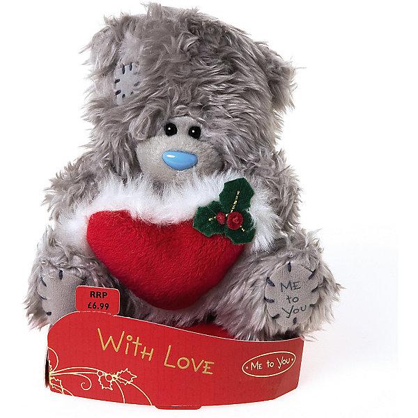 Мишка, 13 см, Me to YouМягкие игрушки животные<br>Мишка, 13 см, Me to You.<br><br>Характеристики:<br><br>- Размер: 13 см.<br>- Материал: искусственный мех, текстиль<br><br>Симпатичный сидящий мишка Тедди станет приятным подарком любимому человеку или другу. Ведь в лапках медвежонок держит красное сердце с меховой конвой, которое символизирует весь фейерверк чувств - от крепкой дружбы до безудержных страстей. У мишки очаровательная мордочка, забавный голубой носик и черные как угольки глазки. Игрушка представляют собой оригинал фирмы Carte Blanche Greetings из Великобритании, что гарантирует применение экологически чистых и безопасных материалов. Теддик не выгорает на солнце, а искусственный мех не вызывает аллергию.<br><br>Мишку, 13 см, Me to You можно купить в нашем интернет-магазине.<br>Ширина мм: 70; Глубина мм: 40; Высота мм: 140; Вес г: 130; Возраст от месяцев: 36; Возраст до месяцев: 2147483647; Пол: Женский; Возраст: Детский; SKU: 5119991;