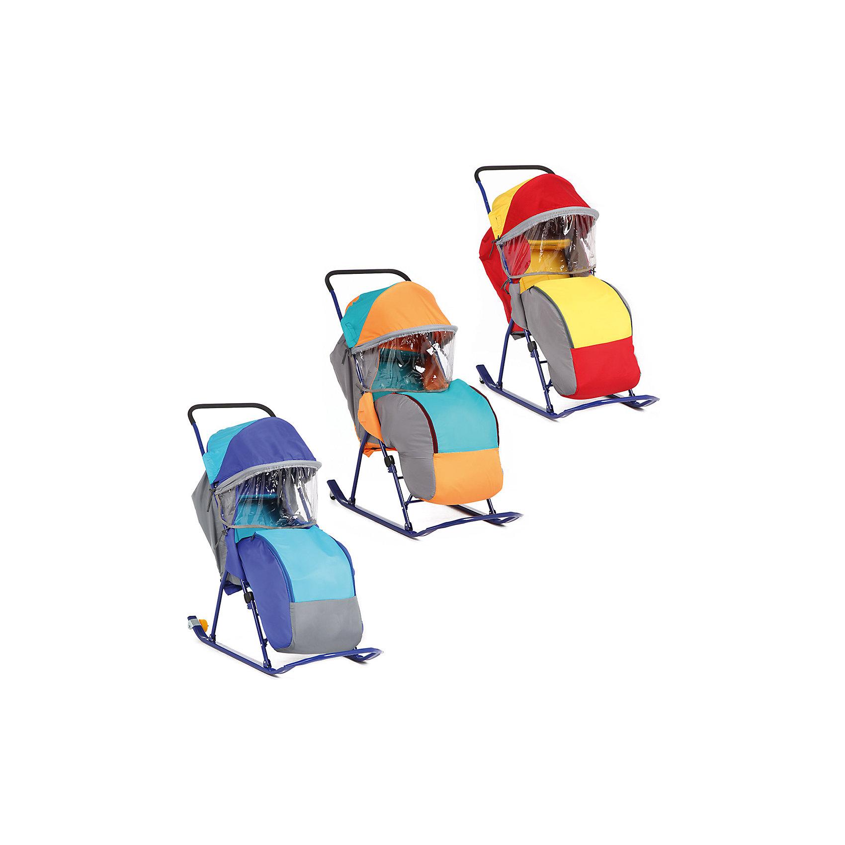 Санки-коляска Малышок 7, Galaxy