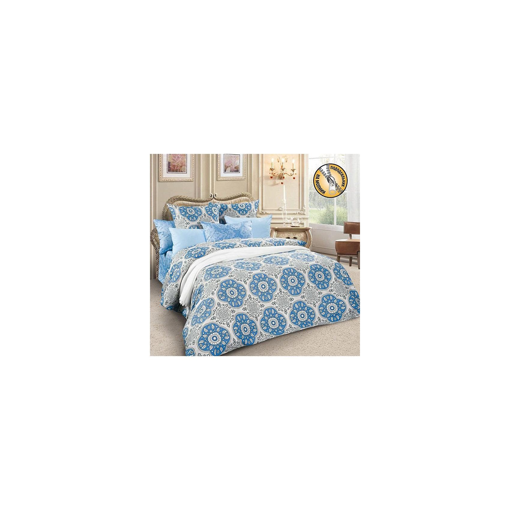 Letto Постельное белье 2,0 сп.  SM61 сатин, (нав.70х70), Letto комплект белья letto семейный наволочки 70х70 цвет голубой синий b183 7