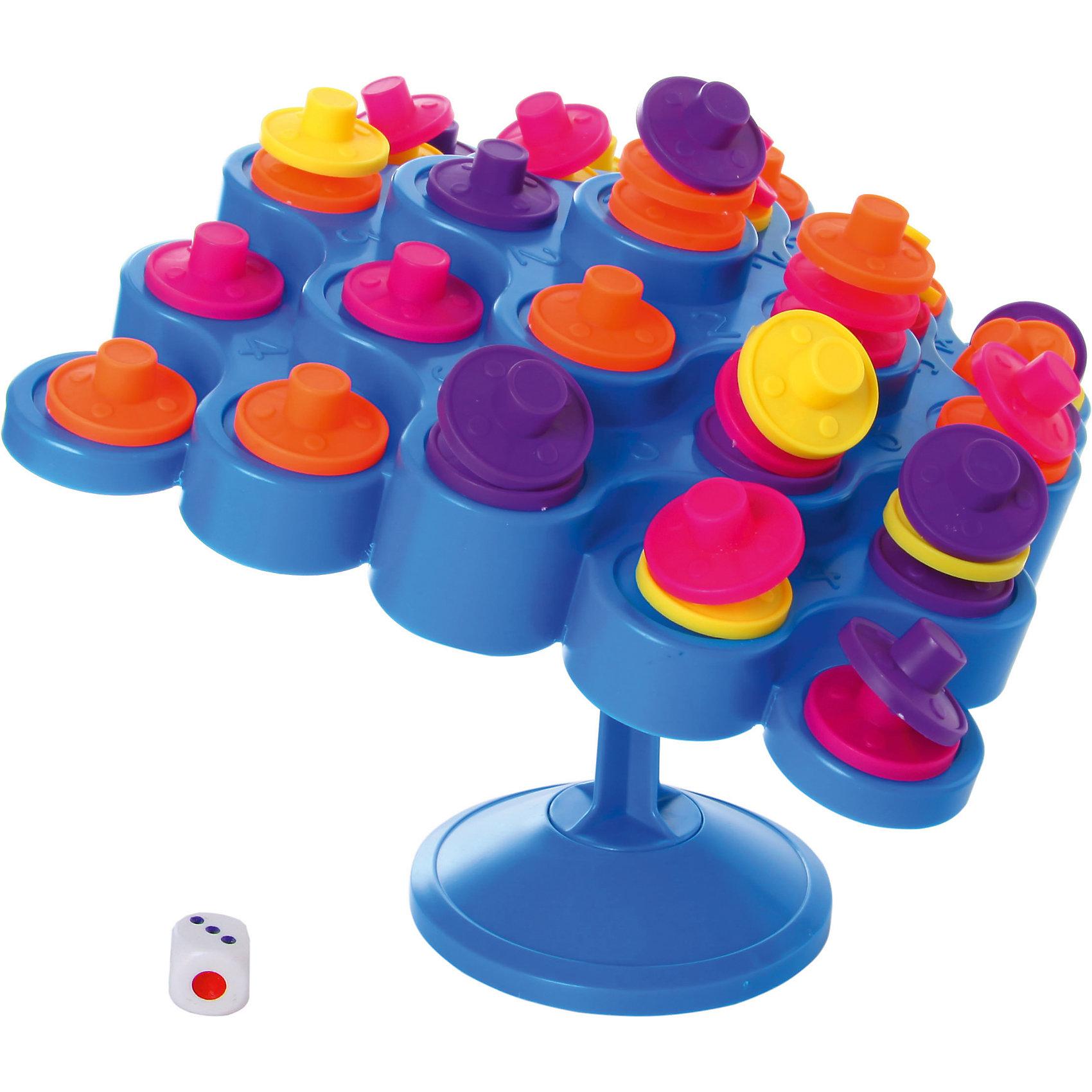 Настольная игра Падающая башня, ФортунаНастольные игры для всей семьи<br>Характеристики:<br><br>• Вид игр: настольные игры<br>• Пол: универсальный<br>• Материал: пластик, картон<br>• Количество игроков: от 2 до 4 человек<br>• Размер (Д*Ш*В): 27*9*27 см<br>• Вес: 500 г<br>• Комплектация: качающееся игровое поле, подставка основа, 48 разноцветных фишек, игровой кубик, инструкция<br><br>Настольная игра Падающая башня, Фортуна от отечественного производителя, специализирующегося на данного вида играх, предназначена для веселого времяпрепровождения от двух до 4-х человек. Цель игры заключается в том, чтобы выставить на качающееся игровое поле как можно больше фишек, стараясь не перевернуть его. Элементы игры выполнены из качественного и безопасного пластика, упакованы в картонную коробку. В комплекте имеется инструкция с правилами игры.<br><br>Настольные игры от Фортуны научат ребенка внимательности, усидчивости, позволят ему развивать, тактическое, стратегическое и логическое мышление. Игры с несколькими участниками позволяют в легкой форме осваивать социальные навыки взаимодействия и выстраивать коммуникацию с другими участниками игры. Настольная игра Падающая башня, Фортуна может стать прекрасным вариантом в качестве подарка к празднику для любого ребенка! <br><br>Настольную игру Падающая башня, Фортуна можно купить в нашем интернет-магазине.<br><br>Ширина мм: 270<br>Глубина мм: 90<br>Высота мм: 260<br>Вес г: 471<br>Возраст от месяцев: 72<br>Возраст до месяцев: 2147483647<br>Пол: Унисекс<br>Возраст: Детский<br>SKU: 5121941