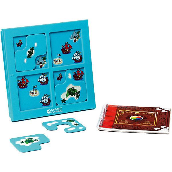 Логическая игра Прятки, пираты, BondibonСтратегические настольные игры<br>Характеристики:<br><br>• Вид игр: настольные игры<br>• Пол: универсальный<br>• Материал: пластик, бумага, картон<br>• Количество игроков: 1<br>• Количество уровней сложности: 4<br>• Количество заданий: 48<br>• Размер (Д*Ш*В): 24*5*24 см<br>• Вес: 635 г<br>• Комплектация: рамка-игровое поле, пазлы, буклет с заданиями, инструкция<br><br>Логическая игра Прятки, пираты, Bondibon – это настольная игра от всемирно известного производителя детских игр развивающей и обучающей направленности. Smart Games – это серия логических игр, предназначенная для одного игрока с несколькими уровнями сложности и множеством заданий. Цель игры Прятки, пираты заключается в том, чтобы выставить игровые пазлы на поле таким образом, как это изображено в задании. Элементы игры выполнены из качественного и безопасного пластика, упакованы в картонную коробку. В комплекте имеется инструкция с правилами игры и буклет с заданиями.<br><br>Логические игры Smart Games от Bondibon научат ребенка логическому и пространственному мышлению, концентрации внимания и выработке индивидуальной тактики решения игровых задач. Настольные игры от Bondibon – залог развития успешности вашего ребенка в будущем! <br><br>Логическую игру Прятки, пираты, Bondibon можно купить в нашем интернет-магазине.<br>Ширина мм: 240; Глубина мм: 50; Высота мм: 240; Вес г: 739; Возраст от месяцев: 60; Возраст до месяцев: 120; Пол: Унисекс; Возраст: Детский; SKU: 5121949;