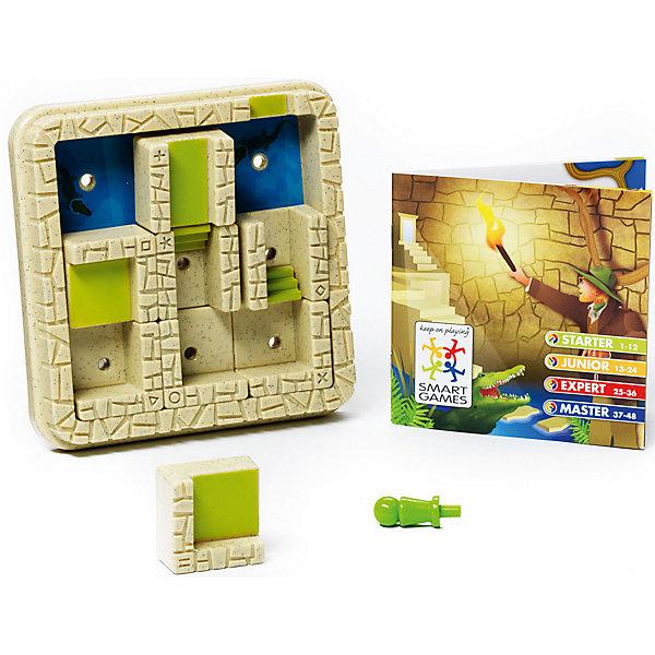 Логическая игра Лабиринт, BondibonСтратегические настольные игры<br>Характеристики:<br><br>• Вид игр: настольные игры<br>• Пол: универсальный<br>• Материал: пластик, бумага, картон<br>• Количество игроков: 1<br>• Количество уровней сложности: 4<br>• Количество заданий: 48<br>• Размер (Д*Ш*В): 24*6*24 см<br>• Вес: 450 г<br>• Комплектация: игровое поле со стенами, 8 деталей с элементами лабиринта, игровая фишка, блокнот с заданиями, инструкция<br><br>Логическая игра Лабиринт, Bondibon – это настольная игра от всемирно известного производителя детских игр развивающей и обучающей направленности. Smart Games – это серия логических игр, предназначенная для одного игрока с несколькими уровнями сложности и множеством заданий. Цель игры Лабиринт заключается в том, чтобы найти выход из лабиринта, не попавшись голодным крокодилам. Элементы игры выполнены из качественного и безопасного пластика, упакованы в картонную коробку. В комплекте имеется инструкция с правилами игры и буклет с заданиями.<br><br>Логические игры Smart Games от Bondibon научат ребенка логическому и пространственному мышлению, концентрации внимания и выработке индивидуальной тактики решения игровых задач. Настольные игры от Bondibon – залог развития успешности вашего ребенка в будущем! <br><br>Логическую игру Лабиринт, Bondibon можно купить в нашем интернет-магазине.<br>Ширина мм: 160; Глубина мм: 50; Высота мм: 190; Вес г: 367; Возраст от месяцев: 84; Возраст до месяцев: 2147483647; Пол: Унисекс; Возраст: Детский; SKU: 5121961;