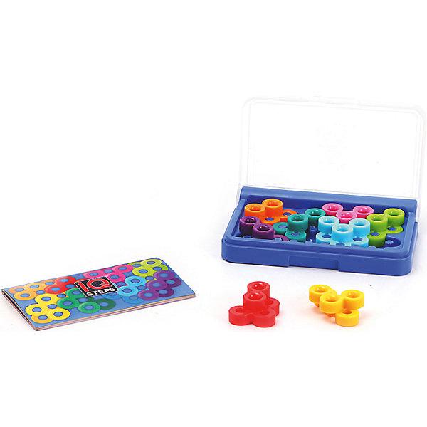 Логическая игра Iq-шаги, BondibonСтратегические настольные игры<br>Характеристики:<br><br>• Вид игр: карманная мини-игра<br>• Пол: универсальный<br>• Материал: пластик, бумага, картон<br>• Количество игроков: 1<br>• Количество уровней сложности: 5<br>• Количество заданий: 120<br>• Размер (Д*Ш*В): 14,3*2,5*9,5 см<br>• Вес: 190 г<br>• Комплектация: игровое поле, 8 разноцветных деталей, блокнот с заданиями и ответами, инструкция<br><br>Логическая игра Iq-шаги, Bondibon – это настольная игра от всемирно известного производителя детских игр развивающей и обучающей направленности. Smart Games – это серия логических игр, предназначенная для одного игрока с несколькими уровнями сложности и множеством заданий. Цель игры Iq-шаги заключается в том, чтобы расположить на игровом поле все детали, не выходя за его границы. Элементы игры выполнены из качественного и безопасного пластика, упакованы в картонную коробку. В комплекте имеется инструкция с правилами игры и буклет с заданиями.<br><br>Логические игры Smart Games от Bondibon научат ребенка логическому и пространственному мышлению, концентрации внимания и выработке индивидуальной тактики решения игровых задач. Настольные игры от Bondibon – залог развития успешности вашего ребенка в будущем! <br><br>Логическую игру Iq-шаги, Bondibon можно купить в нашем интернет-магазине.<br><br>Ширина мм: 97<br>Глубина мм: 27<br>Высота мм: 145<br>Вес г: 208<br>Возраст от месяцев: 96<br>Возраст до месяцев: 2147483647<br>Пол: Унисекс<br>Возраст: Детский<br>SKU: 5121965