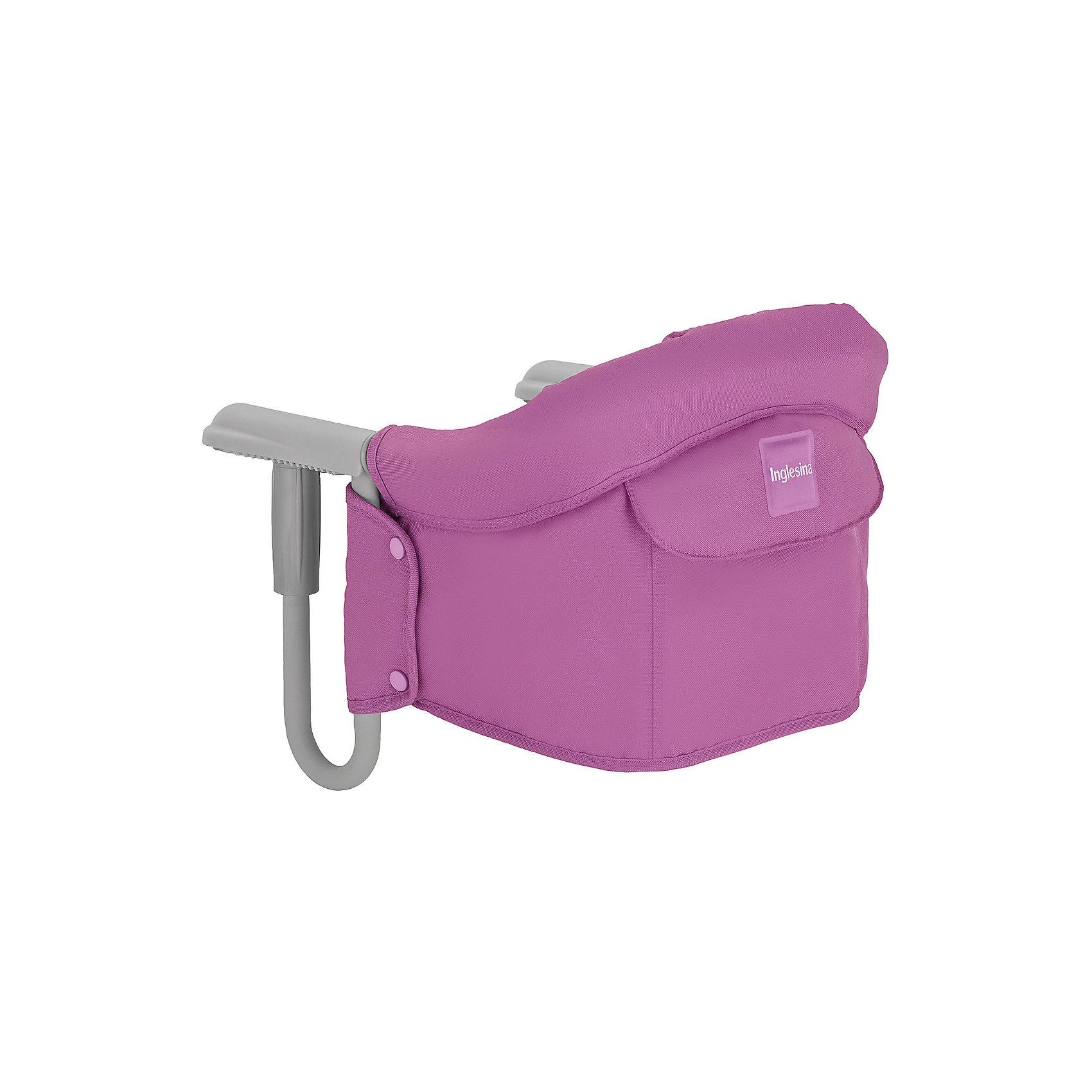 Подвесной стульчик для кормления FAST, Inglesina, фуксияот +6 месяцев<br>Характеристики:<br><br>• Вид детской мебели: стульчик подвесной<br>• Пол: для девочки<br>• Материал: металл, текстиль<br>• Съемная конструкция<br>• Надежные крепления <br>• Наличие 3-х точечных ремней безопасности<br>• Наличие кармашка для мелочей<br>• Наличие сумки для переноски<br>• Максимально допустимый вес: до 15 кг<br>• Размеры стульчика в собранном виде (Д*Ш*В): 28*35*40 см<br>• Размеры упаковки (Д*Ш*В): 38*40*43,5 см<br>• Вес в упаковке: 3 кг <br>• Текстильный чехол сидения можно стирать <br><br>Внимание! Основным является первое фото, последующие фотографии размещены с целью показать функционал данной модели.<br><br><br>Подвесной стульчик для кормления FAST, Inglesina, фуксия – стульчик, предназначенный для детей, которые умеют сидеть. Стульчик имеет подвесную конструкцию, которая надежно крепится к столу. Каркас выполнен из прочного металла, сиденье – из текстиля, который можно стирать. При небольших габаритах и легком весе стульчик выдерживает вес ребенка до 15 кг. Подвесной стульчик для кормления FAST, Inglesina, фуксия – не только идеальный вариант для малогабаритных квартир, но и для дальних поездок или для дачи.<br><br>Подвесной стульчик для кормления FAST, Inglesina, фуксия можно купить в нашем интернет-магазине.<br><br>Ширина мм: 370<br>Глубина мм: 340<br>Высота мм: 110<br>Вес г: 236<br>Цвет: фуксия<br>Возраст от месяцев: 6<br>Возраст до месяцев: 36<br>Пол: Женский<br>Возраст: Детский<br>SKU: 5122072