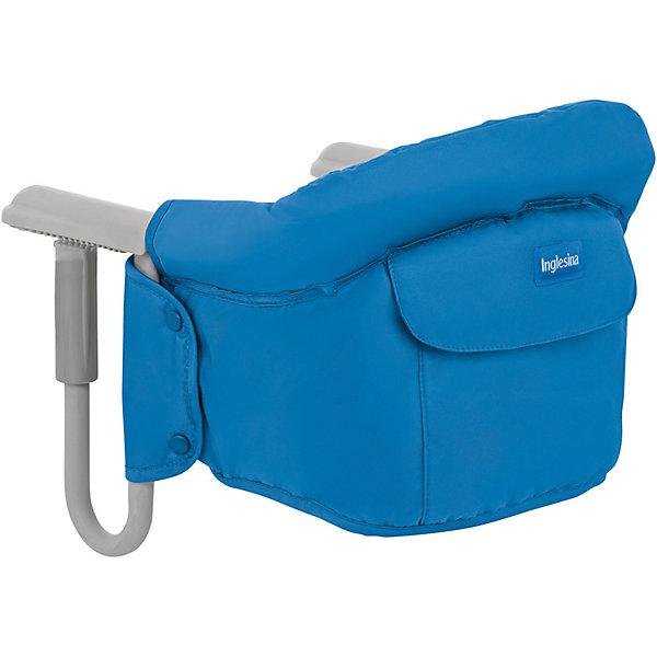 Подвесной стульчик для кормления FAST, Inglesina, голубойСтульчики для кормления<br>Характеристики:<br><br>• Вид детской мебели: стульчик подвесной<br>• Пол: для мальчика<br>• Материал: металл, текстиль<br>• Съемная конструкция<br>• Надежные крепления <br>• Наличие 3-х точечных ремней безопасности<br>• Наличие кармашка для мелочей<br>• Наличие сумки для переноски<br>• Максимально допустимый вес: до 15 кг<br>• Размеры стульчика в собранном виде (Д*Ш*В): 28*35*40 см<br>• Размеры упаковки (Д*Ш*В): 38*40*43,5 см<br>• Вес в упаковке: 3 кг <br>• Текстильный чехол сидения можно стирать <br><br>Внимание! Основным является первое фото, последующие фотографии размещены с целью показать функционал данной модели.<br><br>Подвесной стульчик для кормления FAST, Inglesina, голубой – стульчик, предназначенный для детей, которые умеют сидеть. Стульчик имеет подвесную конструкцию, которая надежно крепится к столу. Каркас выполнен из прочного металла, сиденье – из текстиля, который можно стирать. При небольших габаритах и легком весе стульчик выдерживает вес ребенка до 15 кг. Подвесной стульчик для кормления FAST, Inglesina, голубой – не только идеальный вариант для малогабаритных квартир, но и для дальних поездок или для дачи.<br><br>Подвесной стульчик для кормления FAST, Inglesina, голубой можно купить в нашем интернет-магазине.<br>Ширина мм: 370; Глубина мм: 340; Высота мм: 110; Вес г: 236; Цвет: голубой; Возраст от месяцев: 6; Возраст до месяцев: 36; Пол: Мужской; Возраст: Детский; SKU: 5122073;