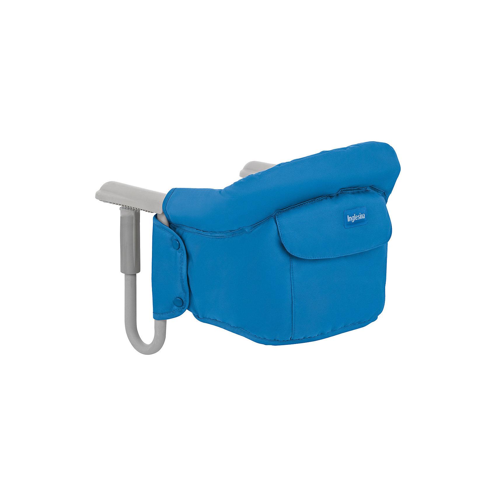 Подвесной стульчик для кормления FAST, Inglesina, голубойХарактеристики:<br><br>• Вид детской мебели: стульчик подвесной<br>• Пол: для мальчика<br>• Материал: металл, текстиль<br>• Съемная конструкция<br>• Надежные крепления <br>• Наличие 3-х точечных ремней безопасности<br>• Наличие кармашка для мелочей<br>• Наличие сумки для переноски<br>• Максимально допустимый вес: до 15 кг<br>• Размеры стульчика в собранном виде (Д*Ш*В): 28*35*40 см<br>• Размеры упаковки (Д*Ш*В): 38*40*43,5 см<br>• Вес в упаковке: 3 кг <br>• Текстильный чехол сидения можно стирать <br><br>Внимание! Основным является первое фото, последующие фотографии размещены с целью показать функционал данной модели.<br><br>Подвесной стульчик для кормления FAST, Inglesina, голубой – стульчик, предназначенный для детей, которые умеют сидеть. Стульчик имеет подвесную конструкцию, которая надежно крепится к столу. Каркас выполнен из прочного металла, сиденье – из текстиля, который можно стирать. При небольших габаритах и легком весе стульчик выдерживает вес ребенка до 15 кг. Подвесной стульчик для кормления FAST, Inglesina, голубой – не только идеальный вариант для малогабаритных квартир, но и для дальних поездок или для дачи.<br><br>Подвесной стульчик для кормления FAST, Inglesina, голубой можно купить в нашем интернет-магазине.<br><br>Ширина мм: 370<br>Глубина мм: 340<br>Высота мм: 110<br>Вес г: 236<br>Цвет: голубой<br>Возраст от месяцев: 6<br>Возраст до месяцев: 36<br>Пол: Мужской<br>Возраст: Детский<br>SKU: 5122073