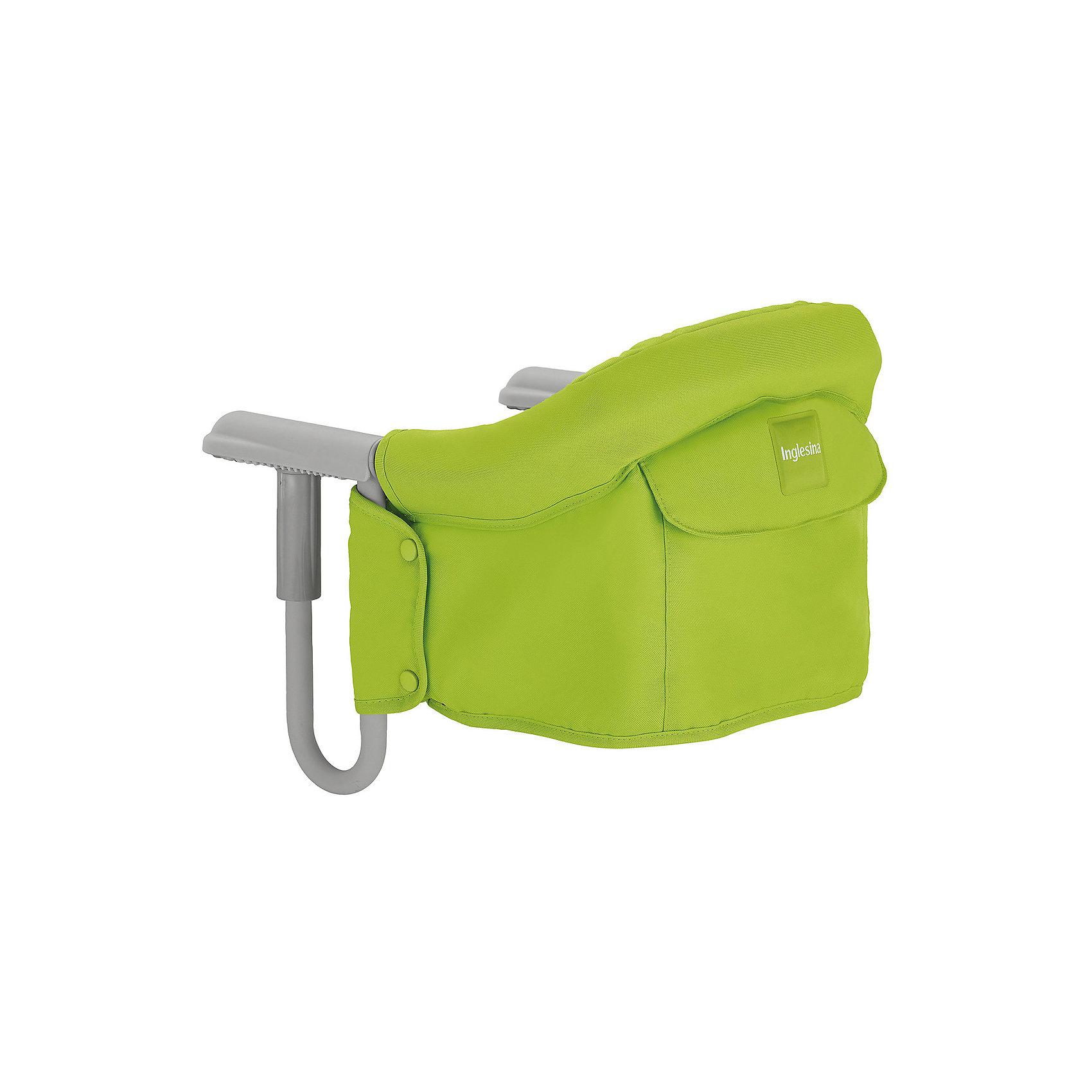 Подвесной стульчик для кормления FAST, Inglesina, лаймот +6 месяцев<br>Характеристики:<br><br>• Вид детской мебели: стульчик подвесной<br>• Пол: универсальный<br>• Материал: металл, текстиль<br>• Съемная конструкция<br>• Надежные крепления <br>• Наличие 3-х точечных ремней безопасности<br>• Наличие кармашка для мелочей<br>• Наличие сумки для переноски<br>• Максимально допустимый вес: до 15 кг<br>• Размеры стульчика в собранном виде (Д*Ш*В): 28*35*40 см<br>• Размеры упаковки (Д*Ш*В): 38*40*43,5 см<br>• Вес в упаковке: 3 кг <br>• Текстильный чехол сидения можно стирать <br><br>Внимание! Основным является первое фото, последующие фотографии размещены с целью показать функционал данной модели.<br><br>Подвесной стульчик для кормления FAST, Inglesina, лайм – стульчик, предназначенный для детей, которые умеют сидеть. Стульчик имеет подвесную конструкцию, которая надежно крепится к столу. Каркас выполнен из прочного металла, сиденье – из текстиля, который можно стирать. При небольших габаритах и легком весе стульчик выдерживает вес ребенка до 15 кг. Подвесной стульчик для кормления FAST, Inglesina, лайм – не только идеальный вариант для малогабаритных квартир, но и для дальних поездок или для дачи.<br><br>Подвесной стульчик для кормления FAST, Inglesina, лайм можно купить в нашем интернет-магазине.<br><br>Ширина мм: 370<br>Глубина мм: 340<br>Высота мм: 110<br>Вес г: 236<br>Цвет: lime<br>Возраст от месяцев: 6<br>Возраст до месяцев: 36<br>Пол: Унисекс<br>Возраст: Детский<br>SKU: 5122074