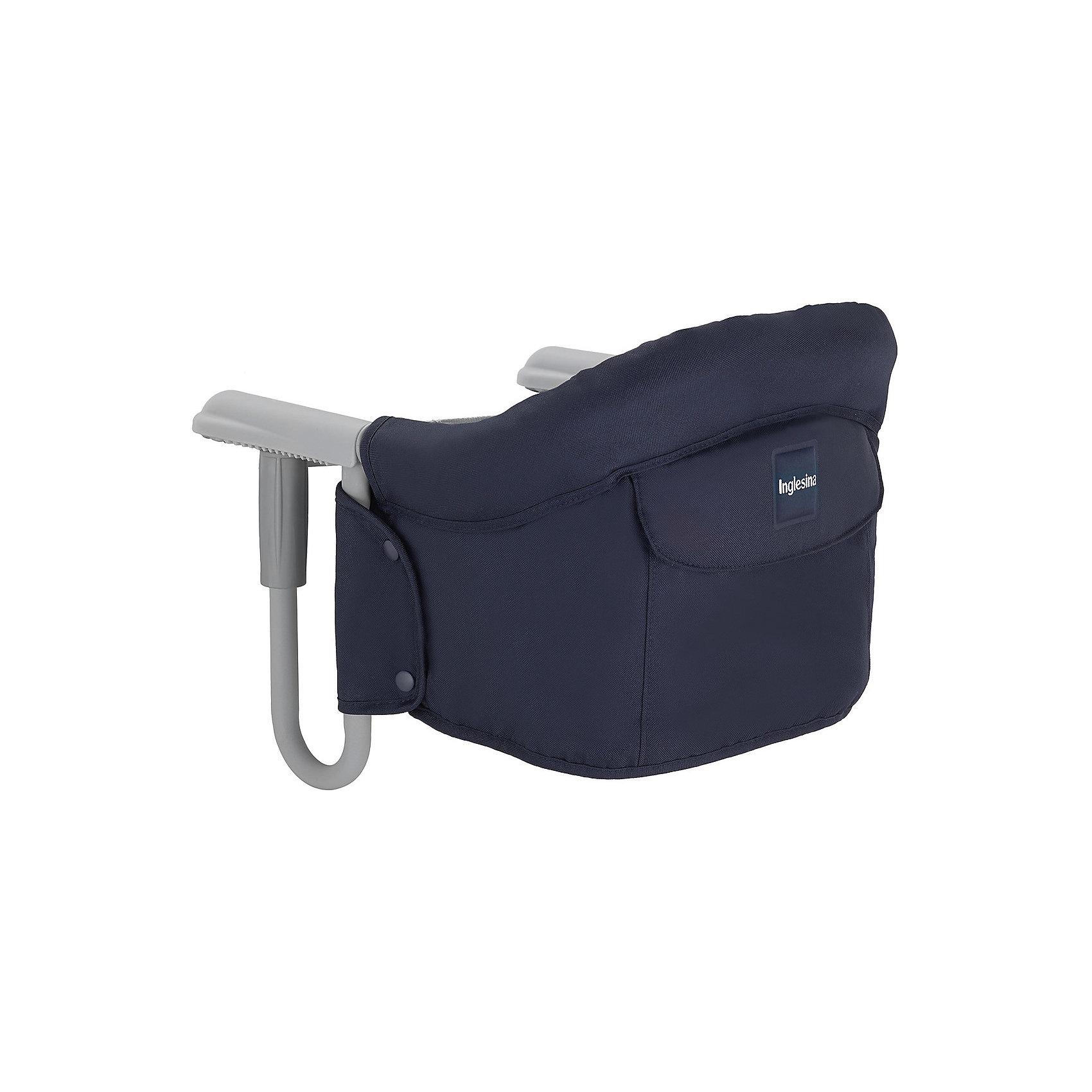 Подвесной стульчик для кормления FAST, Inglesina, тёмно-синийХарактеристики:<br><br>• Вид детской мебели: стульчик подвесной<br>• Пол: для мальчика<br>• Материал: металл, текстиль<br>• Съемная конструкция<br>• Надежные крепления <br>• Наличие 3-х точечных ремней безопасности<br>• Наличие кармашка для мелочей<br>• Наличие сумки для переноски<br>• Максимально допустимый вес: до 15 кг<br>• Размеры стульчика в собранном виде (Д*Ш*В): 28*35*40 см<br>• Размеры упаковки (Д*Ш*В): 38*40*43,5 см<br>• Вес в упаковке: 3 кг <br>• Текстильный чехол сидения можно стирать <br><br>Подвесной стульчик для кормления FAST, Inglesina, темно-синий – стульчик, предназначенный для детей, которые умеют сидеть. Стульчик имеет подвесную конструкцию, которая надежно крепится к столу. Каркас выполнен из прочного металла, сиденье – из текстиля, который можно стирать. При небольших габаритах и легком весе стульчик выдерживает вес ребенка до 15 кг. Подвесной стульчик для кормления FAST, Inglesina, темно-синий – не только идеальный вариант для малогабаритных квартир, но и для дальних поездок или для дачи.<br><br>Подвесной стульчик для кормления FAST, Inglesina, темно-синий можно купить в нашем интернет-магазине.<br><br>Ширина мм: 370<br>Глубина мм: 340<br>Высота мм: 110<br>Вес г: 236<br>Цвет: темно-синий<br>Возраст от месяцев: 6<br>Возраст до месяцев: 36<br>Пол: Унисекс<br>Возраст: Детский<br>SKU: 5122075