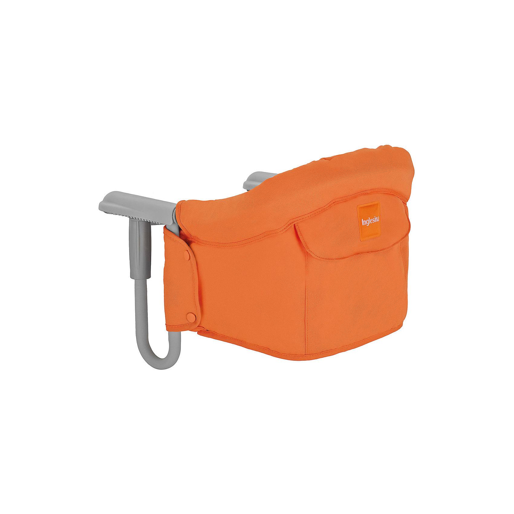 Inglesina Подвесной стульчик для кормления FAST, Inglesina, оранжевый стульчик для кормления inglesina inglesina стульчик для кормления gusto cocobut