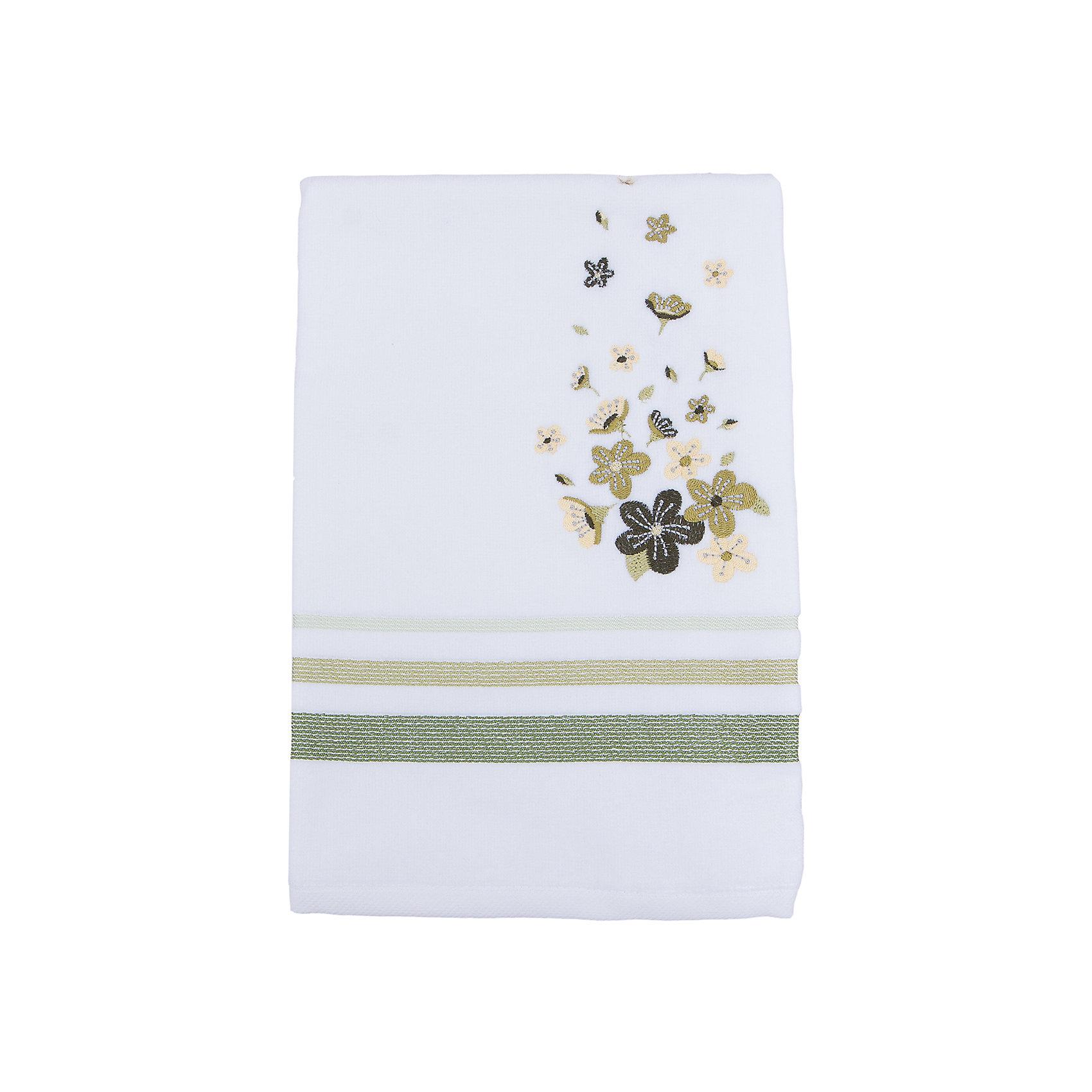 TAC Полотенце подарочное ADELIA махровое 50*90, TAC, зеленый tac tac полотенце adelia цвет бежевый 50х90 см