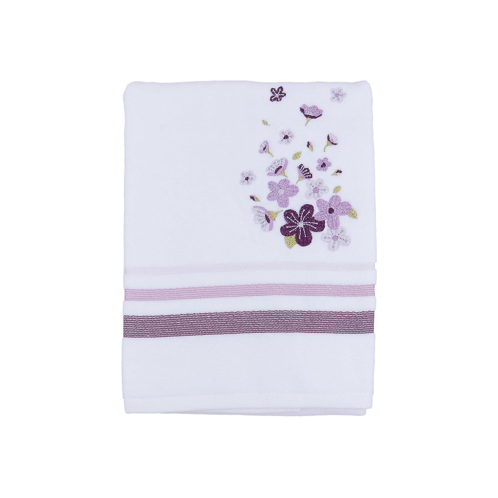 TAC Полотенце подарочное ADELIA махровое 50*90, TAC, сиреневый tac полотенце bloom махровое 50 90 бамбук tac сиреневый