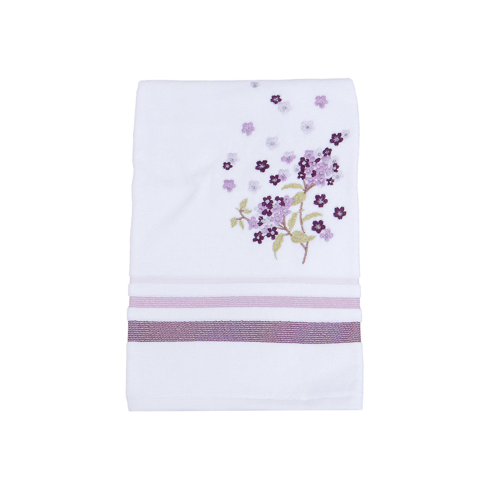 TAC Полотенце подарочное FUSION махровое 50*90, TAC, сиреневый tac полотенце bloom махровое 50 90 бамбук tac сиреневый