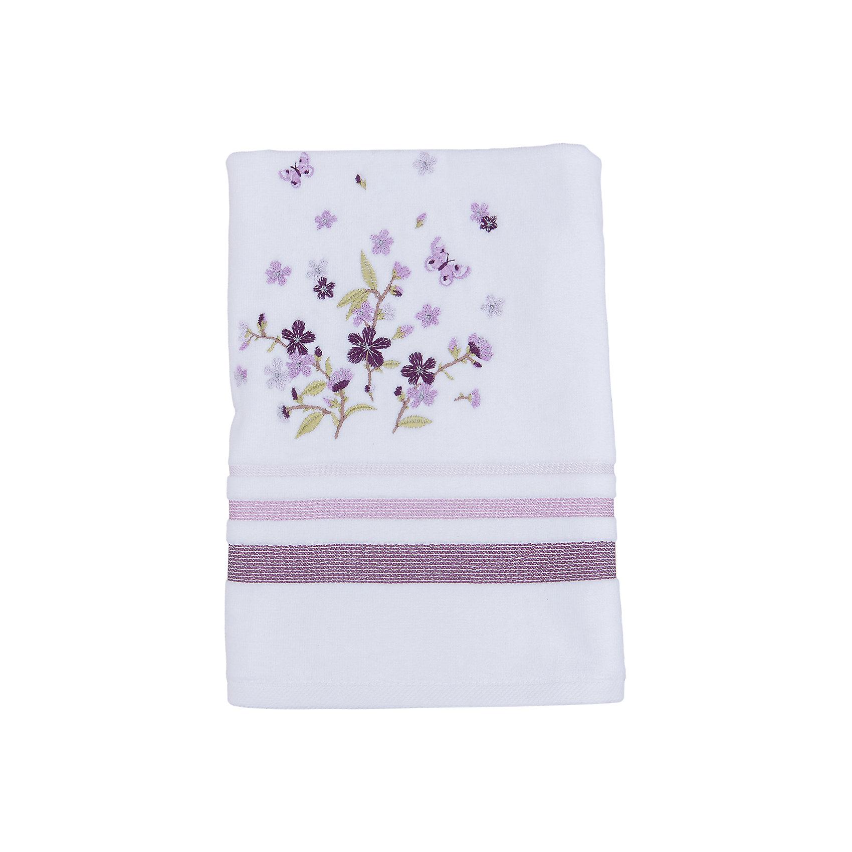 TAC Полотенце подарочное LEGRAND махровое 50*90, TAC, сиреневый tac полотенце bloom махровое 50 90 бамбук tac сиреневый