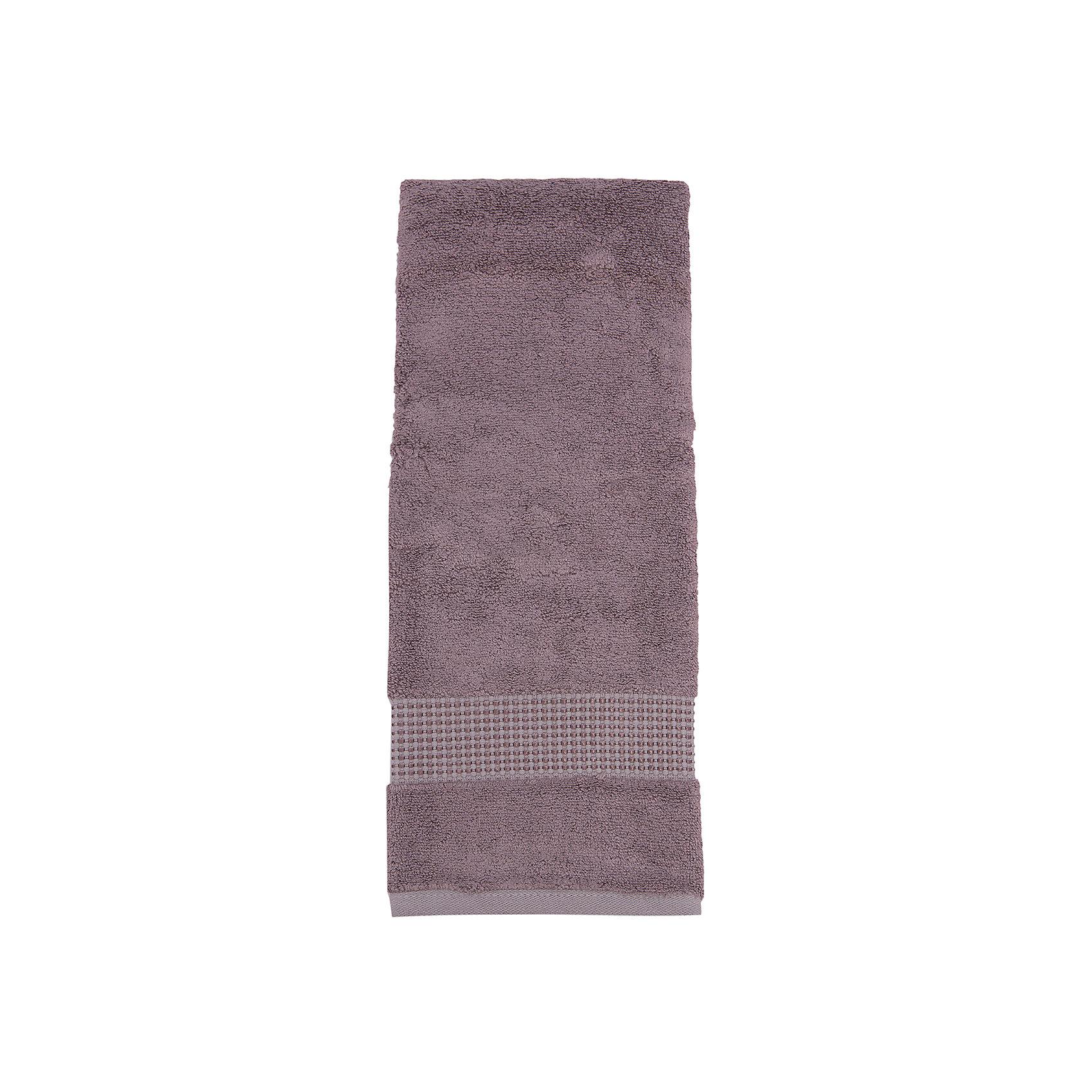 TAC Полотенце ELMORE махровое 50*90 Бамбук, TAC, коричневый tac полотенце bloom махровое 50 90 бамбук tac сиреневый