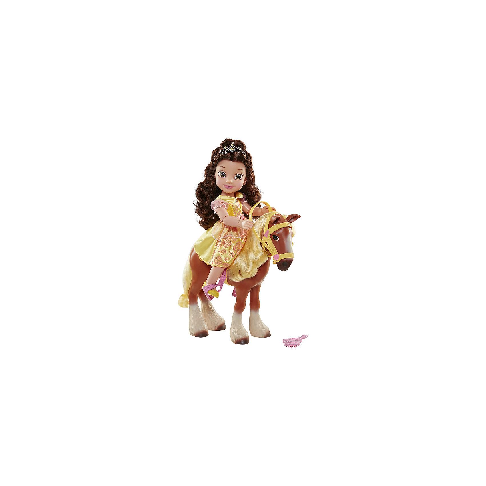 Кукла Принцесса с животным, Принцессы ДиснейКлассические куклы<br>Характеристики товара:<br><br>- цвет: разноцветный;<br>- материал: текстиль, пластик;<br>- размер кукол: 35 см;<br>- каждая кукла продается отдельно.<br><br>Играть с фигурками из любимого мультфильма - вдвойне интереснее! Фигурки маленьких принцесс из мультфильмов Диснея - очень красивые, они хорошо детализированы. У кукол живые глаза-линзы. Каждая фигурка отлично выполнена, похожа на героя мультика, поэтому она станет желанным подарком для ребенка. Каждая принцесса дополнена своим животным. Такая игрушка отлично тренирует у ребенка разные навыки: играя с фигурками, ребенок развивает мелкую моторику, цветовосприятие, внимание, воображение и творческое мышление. <br>Из этих фигурок можно собрать целую коллекцию! Изделие произведено из качественных проверенных материалов, безопасных для малышей.<br><br>Куклу Принцесса с животным, Принцессы Дисней, можно купить в нашем интернет-магазине.<br><br>Ширина мм: 500<br>Глубина мм: 400<br>Высота мм: 150<br>Вес г: 2383<br>Возраст от месяцев: 36<br>Возраст до месяцев: 2147483647<br>Пол: Женский<br>Возраст: Детский<br>SKU: 5124486