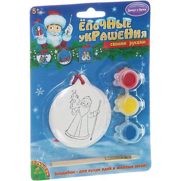 Набор для творчества Медаль, BondibonНаборы для творчества новогодние<br>Набор для творчества Круг, Bondibon (Бондибон). <br><br>Характеристика:<br><br>• Материал: керамика, пластик, акриловые краски. <br>• Размер упаковки: 13х5х17 см. <br>• Комплектация: фигурка для раскрашивания, разноцветные краски (3 шт.), кисточка.<br>• Набор развивает моторику рук, фантазию и внимание. <br><br>Предложите вашему ребенку самому поучаствовать в создании яркого ёлочного украшения, которое займёт достойное место на любой ёлке или же станет прекрасным новогодним сувениром, сделанным своими руками!<br>Набор для творчества от Bondibon - оригинальный и полезный подарок: создавая что-то красивое, ребенок получит массу удовольствия и положительных эмоций, а также разовьет моторику рук, фантазию, цветовосприятие и эстетический вкус.<br><br>Набор для творчества Круг, Bondibon (Бондибон), можно купить в нашем интернет-магазине.<br><br>Ширина мм: 127<br>Глубина мм: 5<br>Высота мм: 170<br>Вес г: 87<br>Возраст от месяцев: 60<br>Возраст до месяцев: 1188<br>Пол: Унисекс<br>Возраст: Детский<br>SKU: 5124526