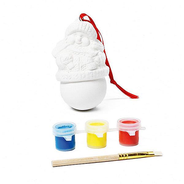 Набор для творчества Снеговик, BondibonНовогодние наборы для творчества<br>Набор для творчества Снеговик, Bondibon (Бондибон). <br><br>Характеристика:<br><br>• Материал: керамика, пластик, акриловые краски. <br>• Размер упаковки: 12х5х15,5 см. <br>• Комплектация: фигурка для раскрашивания, разноцветные краски (3 шт.), кисточка.<br>• Набор развивает моторику рук, фантазию и внимание. <br><br>Предложите вашему ребенку самому поучаствовать в создании яркого ёлочного украшения, которое займёт достойное место на любой ёлке или же станет прекрасным новогодним сувениром, сделанным своими руками!<br>Набор для творчества от Bondibon - оригинальный и полезный подарок: создавая что-то красивое, ребенок получит массу удовольствия и положительных эмоций, а также разовьет моторику рук, фантазию, цветовосприятие и эстетический вкус.<br><br>Набор для творчества Снеговик, Bondibon (Бондибон), можно купить в нашем интернет-магазине.<br>Ширина мм: 120; Глубина мм: 55; Высота мм: 155; Вес г: 109; Возраст от месяцев: 60; Возраст до месяцев: 1188; Пол: Унисекс; Возраст: Детский; SKU: 5124527;