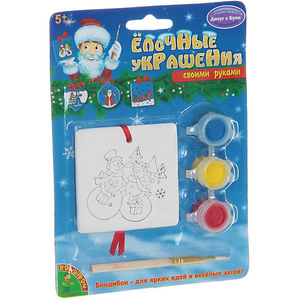 Набор для творчества Квадрат, BondibonНаборы для творчества новогодние<br>Набор для творчества Квадрат Bondibon (Бондибон).<br><br>Характеристики:<br><br>• Материал: керамика, краски, дерево, текстиль.<br>• В набор входит: <br>- 1 фигурка для раскрашивания, <br>- краски 3 цветов, <br>- кисточка, <br>- инструкция.<br><br>Создайте праздник вместе со своими детьми! Набор «Квадрат» поможет вам провести творчески досуг и создаст праздничное настроение. В наборе керамическая заготовка в виде квадратного медальона с изображением двух снеговиков, которую нужно раскрасить различными цветами так, как вам подскажет фантазия. Раскрашивать изделия из керамики - очень интересно и увлекательно. Готовые расписные керамические фигурки станут прекрасным украшением любого интерьера или замечательным подарком для близких и друзей. Работа с таким набором помогает развить творческие способности, усидчивость, внимательность, самостоятельность, координацию движений.<br><br>Набор для творчества Квадрат Bondibon (Бондибон), можно купить в нашем интернет – магазине.<br><br>Ширина мм: 127<br>Глубина мм: 5<br>Высота мм: 170<br>Вес г: 83<br>Возраст от месяцев: 60<br>Возраст до месяцев: 1188<br>Пол: Унисекс<br>Возраст: Детский<br>SKU: 5124528