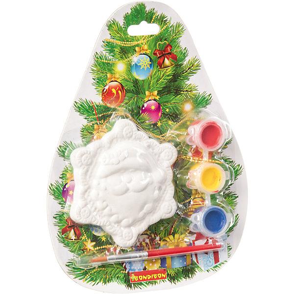 Набор для творчества Дед Мороз, BondibonНаборы для творчества новогодние<br>Набор для творчества Дед Мороз от ТМ Bondibon (Бондибон).<br><br>Характеристики:<br><br>• Материал: керамика, краски, текстиль.<br>• В набор входит: <br>- керамическая фигурка для раскрашивания, <br>- краски 3 цвета,<br>- кисточка, <br>- инструкция.<br><br>Создайте новогоднее настроение вместе со своими детьми! Набор для творчества Дед Мороз поможет вам провести творчески досуг и создаст праздничное настроение. В наборе керамическая фигурка для раскрашивания, которую ваш ребенок может раскрасить по своему вкусу. Раскрашивать изделия из керамики - очень интересно и увлекательно. Такие фигурки, раскрашенные вручную, станут отличным подарком! Работа с таким набором помогает развить творческие способности, усидчивость, внимательность, самостоятельность, координацию движений.<br><br>Набор для творчества Дед Мороз Bondibon (Бондибон), можно купить в нашем интернет – магазине.<br><br>Ширина мм: 150<br>Глубина мм: 30<br>Высота мм: 190<br>Вес г: 106<br>Возраст от месяцев: 60<br>Возраст до месяцев: 1188<br>Пол: Унисекс<br>Возраст: Детский<br>SKU: 5124544