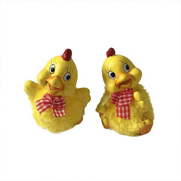 Фигурка Цыплёнок (1 шт)Новогодние сувениры<br>Фигурка Цыплёнок, в ассортименте.<br><br>Характеристики:<br><br>- В ассортименте 2 вида<br>- Размер: 6x5x7,5 см.<br>- Материал: керамика, искусственный мех, текстиль<br><br>ВНИМАНИЕ! Данный артикул представлен в разных вариантах исполнения. К сожалению, заранее выбрать определенный вариант невозможно. При заказе нескольких фигурок возможно получение одинаковых<br><br>Фигурка в виде забавного жёлтого цыпленка будет отличным презентом в преддверии Нового 2017 года, а также милым аксессуаром в праздничном интерьере. Цыпленок выполнен из керамики. Его оперение изготовлено из искусственного меха, поэтому цыпленок выглядит очень пушистым.<br><br>Фигурку Цыплёнок, в ассортименте можно купить в нашем интернет-магазине.<br>Ширина мм: 60; Глубина мм: 50; Высота мм: 75; Вес г: 78; Возраст от месяцев: 36; Возраст до месяцев: 1188; Пол: Унисекс; Возраст: Детский; SKU: 5124554;