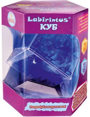 Ћабиринтус уб, 10см, синий, прозрачный, Labirintus