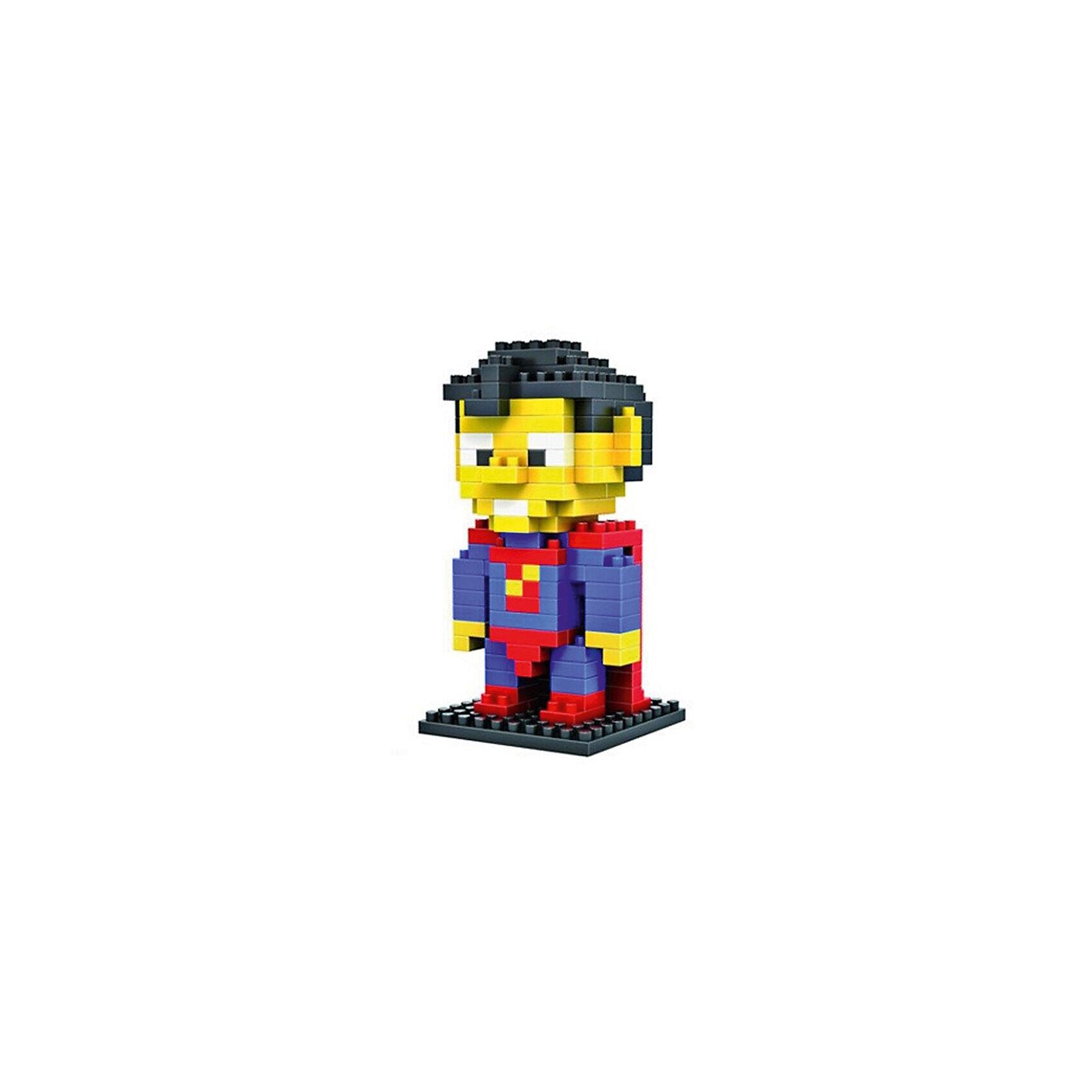 Конструктор Супер Мужик (Супермен), LozПластмассовые конструкторы<br>Конструктор Супер Мужик, Loz<br><br>Конструкторы компании Loz - это необычные конструкторы. Они состоят из множества маленьких деталей - наноблоков. Конструктор Diamond Block Супер Мужик - один из конструкторов подарочной серии. Это настоящая головоломка, так как для того чтобы собрать модель, Вам потребуется пара часов и немало терпения. Результатом работы станет забавная фигурка популярного героя из комиксов - Супер Мужика или, более известного нам Супермена.<br><br>В набор входит 150 деталей конструктора и подробная инструкция.<br><br>Ширина мм: 75<br>Глубина мм: 75<br>Высота мм: 75<br>Вес г: 60<br>Возраст от месяцев: 48<br>Возраст до месяцев: 192<br>Пол: Мужской<br>Возраст: Детский<br>SKU: 5124650