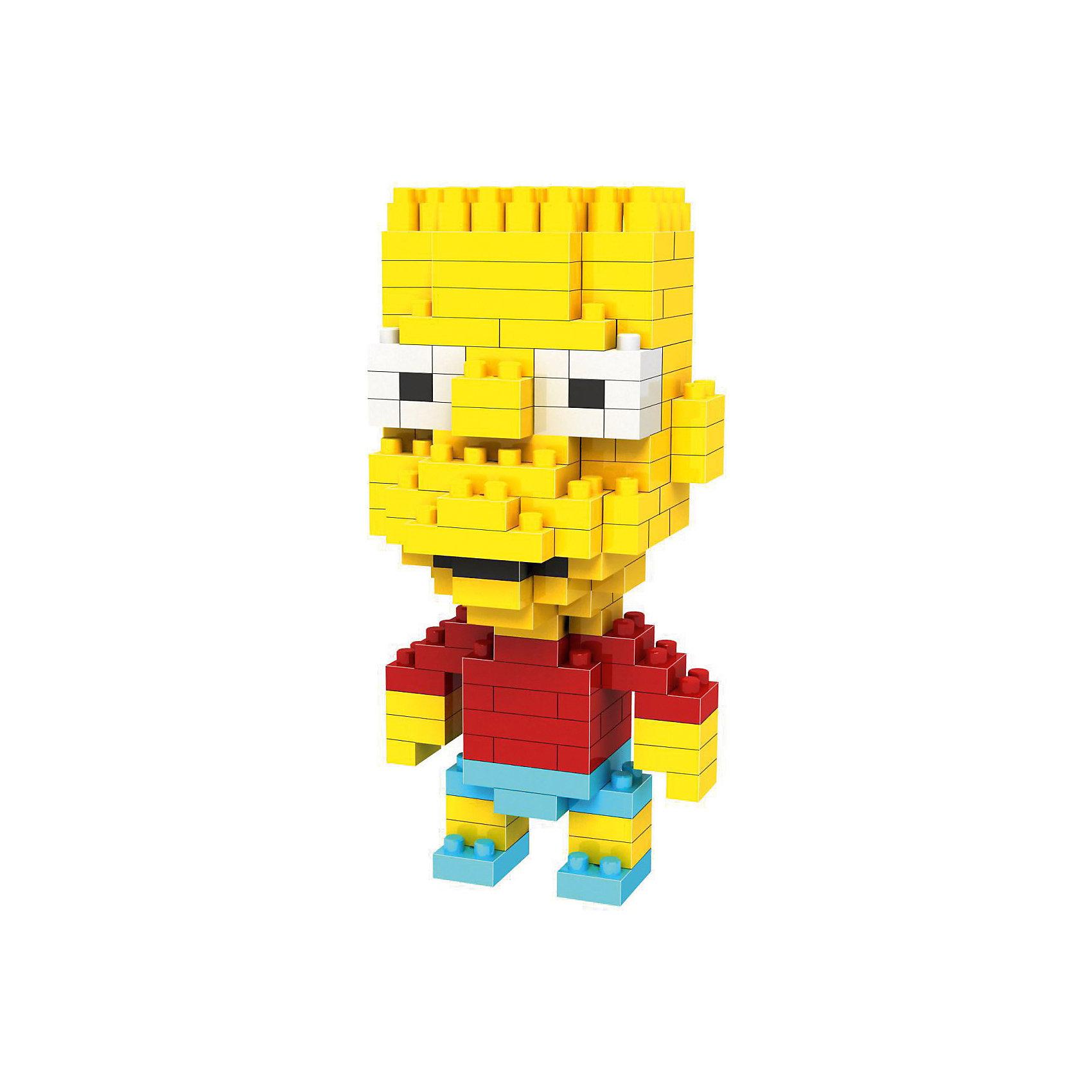 Конструктор Барт - реальный пацан, Симпсоны, LozПластмассовые конструкторы<br>Конструктор Барт - реальный пацан, Симпсоны, Loz<br><br>Конструкторы компании Loz - это необычные конструкторы. Они состоят из множества маленьких деталей - наноблоков. Конструктор Diamond Block Барт - реальный пацан - один из конструкторов подарочной серии. Это настоящая головоломка, так как для того чтобы собрать модель, Вам потребуется пара часов и немало терпения. Результатом работы станет милая фигурка маленького непоседы Барта из популярного мультфильма Симпсоны. <br><br><br>В набор входит 200 деталей конструктора и подробная инструкция.<br>Детали выполнены из высококачественного безопасного пластика.<br><br>Ширина мм: 75<br>Глубина мм: 75<br>Высота мм: 75<br>Вес г: 50<br>Возраст от месяцев: 108<br>Возраст до месяцев: 192<br>Пол: Мужской<br>Возраст: Детский<br>SKU: 5124652