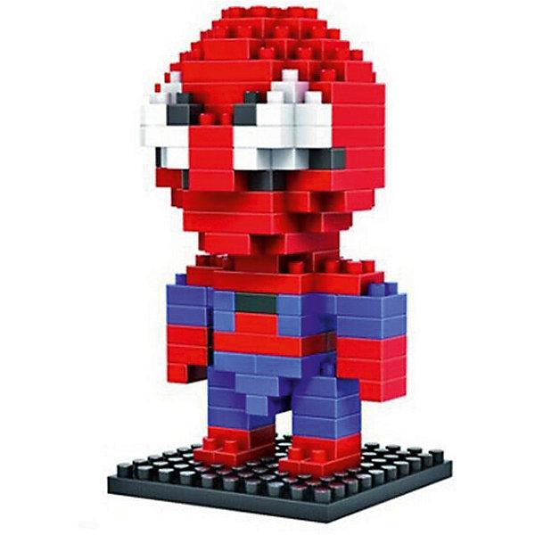 Конструктор Воин паук, LozПластмассовые конструкторы<br>Конструктор Воин паук, Loz<br><br>Конструкторы компании Loz - это необычные конструкторы. Они состоят из множества маленьких деталей - наноблоков. Конструктор Diamond Block Воин паук - один из конструкторов подарочной серии. Это настоящая головоломка, так как для того чтобы собрать Паука, Вам потребуется пара часов и немало терпения. Результатом работы станет забавная фигурка популярного героя из комиксов - Воина паука или, более известного нам Человека-паука. <br><br>В набор входит 130 деталей конструктора и подробная инструкция. <br>Детали выполнены из высококачественного безопасного пластика.<br>Ширина мм: 75; Глубина мм: 75; Высота мм: 75; Вес г: 60; Возраст от месяцев: 108; Возраст до месяцев: 192; Пол: Мужской; Возраст: Детский; SKU: 5124653;