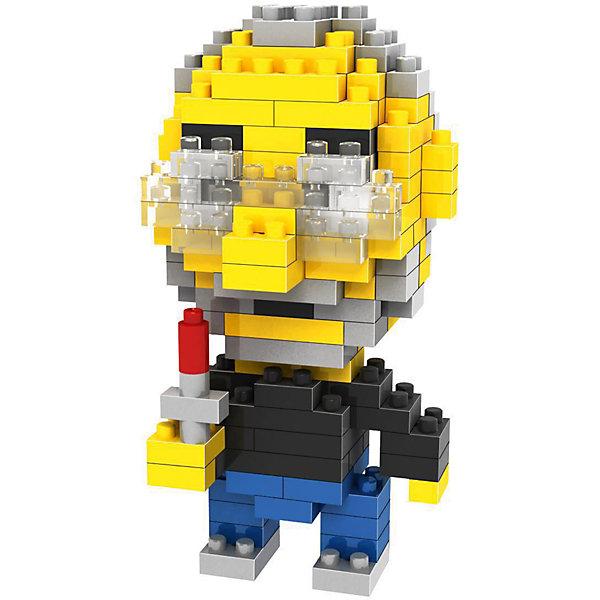 Конструктор Стивен Джобс, LozПластмассовые конструкторы<br>Конструктор Стивен Джобс, Loz<br><br>Конструкторы компании Loz - это необычные конструкторы. Они состоят из множества маленьких деталей - наноблоков. Конструктор Diamond Block Стивен Джобс - один из конструкторов подарочной серии. Это настоящая головоломка, так как для того чтобы собрать модель, Вам потребуется пара часов и немало терпения. Результатом работы станет фигурка Стива Джобса - одного из основателей корпорации Apple.<br><br>В набор входит 170 деталей конструктора и подробная инструкция.<br>Детали выполнены из высококачественного безопасного пластика.<br><br>Конструктор Стивен Джобс, Loz можно купить в нашем интернет-магазине.<br>Ширина мм: 75; Глубина мм: 75; Высота мм: 75; Вес г: 50; Возраст от месяцев: 48; Возраст до месяцев: 192; Пол: Мужской; Возраст: Детский; SKU: 5124654;