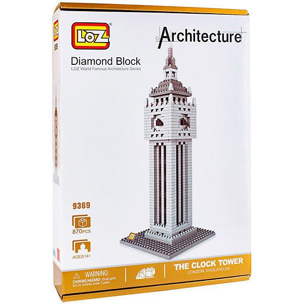Конструктор  Башня Биг Бен, LozПластмассовые конструкторы<br>Конструктор  Башня Биг Бен, Loz - конструктор серии Архитектура.<br><br>Коструктор собирается из модных в последнее время нано-блоков, что позволяет придать конечной модели максимально приближенный к оригиналу вид. Собирая башню, ребенок будет развивать внимательность, усидчивость, логику и пространственное воображение. А собранная модель станет отличном украшением детской. <br><br>Дополнительная информация:<br><br>В набор входит 870 деталей конструктора и подробная инструкция.<br>Материал: пластмасса.<br><br>Конструктор  Башня Биг Бен, Loz - можно купить в нашем интернет-магазине.<br><br>Ширина мм: 50<br>Глубина мм: 200<br>Высота мм: 280<br>Вес г: 320<br>Возраст от месяцев: 96<br>Возраст до месяцев: 192<br>Пол: Мужской<br>Возраст: Детский<br>SKU: 5124662