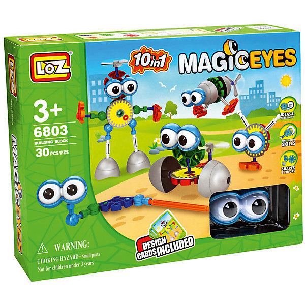Конструктор Большеглазики, LozПластмассовые конструкторы<br>Конструктор Большеглазики, Loz - интересный конструктор 10 в 1, который станет замечательным подарком для Вашего ребенка. С его помощью Ваш ребенок сможет собрать 10 моделей забавных глазастиков.<br>Такая игрушка хорошо влияет на развитие у ребенка мелкой моторики, логического мышления, внимательности и усидчивости. Набор содержит 30 деталей.<br><br>Дополнительная информация:<br><br>- Материал: пластмасса.<br>- В комплекте: 30 деталей + инструкция.<br><br>Конструктор Большеглазики, Loz можно купить в нашем интернет-магазине.<br><br>Ширина мм: 60<br>Глубина мм: 300<br>Высота мм: 225<br>Вес г: 430<br>Возраст от месяцев: 96<br>Возраст до месяцев: 192<br>Пол: Мужской<br>Возраст: Детский<br>SKU: 5124665