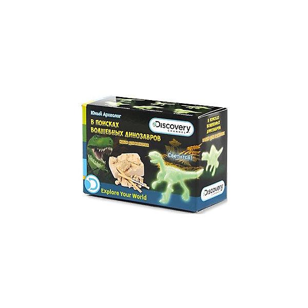 Раскопки Динозавры, Юный АрхеологНаборы для раскопок<br>Раскопки Динозавры, Юный Археолог<br><br>Характеристики:<br><br>• фигурка светится<br>• развивает внимательность и усидчивость<br>• в комплекте: гипсовый брусок со спрятанной фигуркой, кисточка, долото<br>• размер: 5,5х3,5х8 см<br>• вес: 100 грамм<br><br>Археология - одна из самых увлекательных наук. С набором Динозавры археология станет доступна даже детям! В наборе вы найдете гипсовый брусок со спрятанным динозавром и инструменты для раскопок. После проведения раскопок ребенка ждет еще один приятный сюрприз: фигурка динозавра может светиться! Набор Динозавры - отличный выбор для детей, которые любят проводить время с пользой!<br><br>Раскопки Динозавры, Юный Археолог вы можете купить в нашем интернет-магазине.<br><br>Ширина мм: 80<br>Глубина мм: 35<br>Высота мм: 55<br>Вес г: 100<br>Возраст от месяцев: 72<br>Возраст до месяцев: 108<br>Пол: Унисекс<br>Возраст: Детский<br>SKU: 5124683
