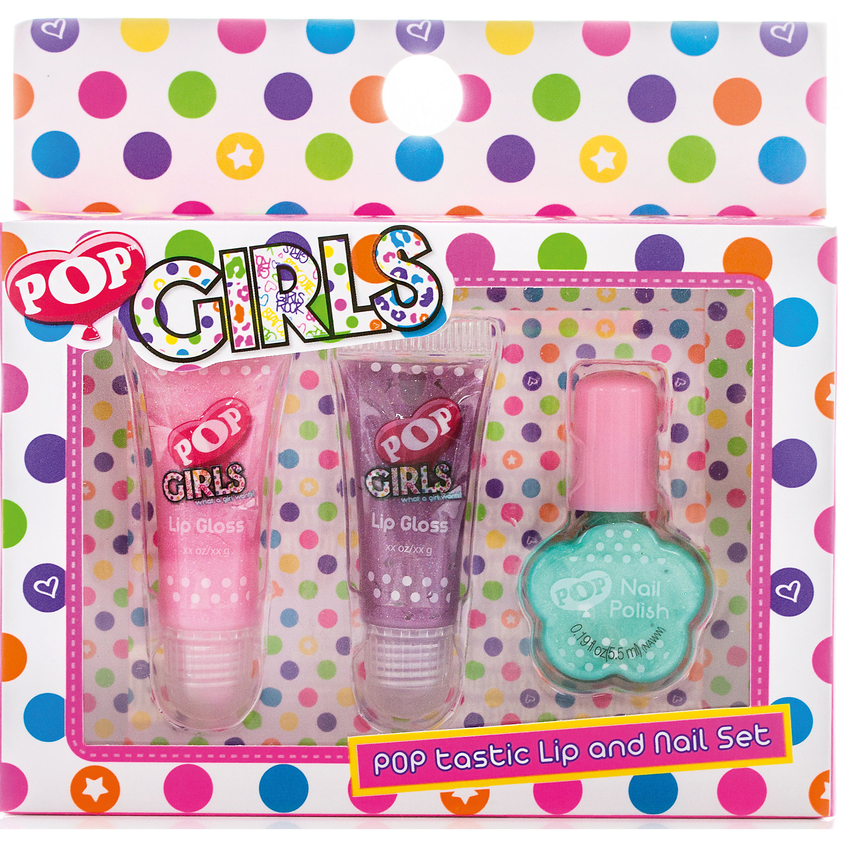 Markwins Набор детской косметики Pop Girls winx club набор детской декоративной косметики магия визажа