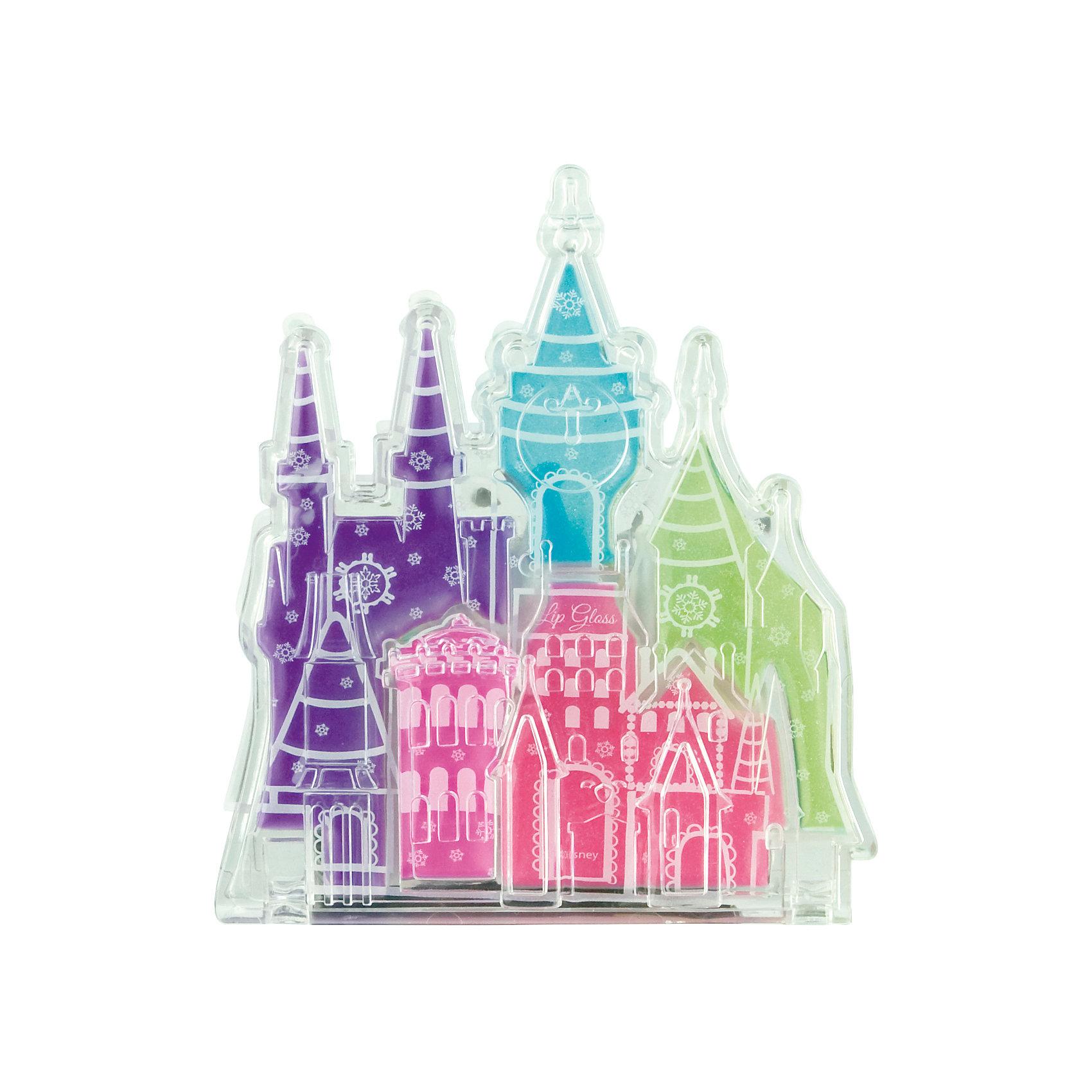 Набор детской косметики Princess - Блеск для губПринцессы Дисней<br>Характеристики:<br><br>• Наименование: детская декоративная косметика<br>• Предназначение: для сюжетно-ролевых игр<br>• Серия: Принцессы Диснея<br>• Пол: для девочки<br>• Материал: натуральные косметические компоненты, пластик, текстиль<br>• Цвет: оттенки розового, голубой, сиреневый, салатовый<br>• Комплектация: палитра блеска для губ из 5 оттенков<br>• Размеры (Д*Ш*В): 10*9*3 см<br>• Вес: 50 г <br>• Упаковка: футляр в виде замка<br><br>Игровой набор детской декоративной косметики в замке, Принцессы Дисней – это набор игровой детской косметики от Markwins, которая вот уже несколько десятилетий специализируется на выпуске детской косметики. Рецептура декоративной детской косметики разработана совместно с косметологами и медиками, в основе рецептуры – водная основа, а потому она гипоаллергенны, не вызывает раздражений на детской коже и легко смывается, не оставляя следа. Безопасность продукции подтверждена международными сертификатами качества и безопасности. <br>Игровой набор детской декоративной косметики состоит из палитры нежных оттенков блеска для губ в оригинальном футляре в виде замка. Косметические средства, входящие в состав набора, имеют длительный срок хранения – 12 месяцев. Набор выполнен в брендовом дизайне популярной серии Принцессы Диснея. Игровой набор детской декоративной косметики от Markwins может стать незаменимым праздничным подарком для любой маленькой модницы!<br><br>Игровой набор детской декоративной косметики в замке, Принцессы Дисней можно купить в нашем интернет-магазине.<br><br>Ширина мм: 80<br>Глубина мм: 100<br>Высота мм: 10<br>Вес г: 71<br>Возраст от месяцев: 48<br>Возраст до месяцев: 120<br>Пол: Женский<br>Возраст: Детский<br>SKU: 5124703
