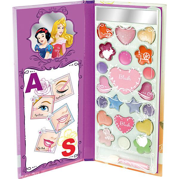 Игровой набор детской декоративной косметики в книжке AS, Принцессы ДиснейНаборы детской косметики<br>Характеристики:<br><br>• Наименование: детская декоративная косметика<br>• Предназначение: для сюжетно-ролевых игр<br>• Серия: Принцессы Диснея<br>• Пол: для девочки<br>• Материал: натуральные косметические компоненты, пластик, картон<br>• Цвет: в ассортименте<br>• Комплектация: палитра блеска для губ из 10 оттенков, 2 оттенка румян, 9 оттенков кремовых теней, аппликатор, зеркальце<br>• Размеры (Д*Ш*В): 21*11*2 см<br>• Вес: 100 г <br>• Упаковка: футляр в виде книжки<br><br>Внимание! Товар в ассортименте, 2 вида, нет возможности выбрать товар конкретной расцветки.<br><br>Игровой набор детской декоративной косметики в книжке AS, Принцессы Дисней – это набор игровой детской косметики от Markwins, которая вот уже несколько десятилетий специализируется на выпуске детской косметики. Рецептура декоративной детской косметики разработана совместно с косметологами и медиками, в основе рецептуры – водная основа, а потому она гипоаллергенны, не вызывает раздражений на детской коже и легко смывается, не оставляя следа. Безопасность продукции подтверждена международными сертификатами качества и безопасности. <br>Игровой набор детской декоративной косметики состоит из палитры нежных оттенков блеска для губ, румян и теней в оригинальном футляре в виде книжки, внутри которой имеется зекральце. Косметические средства, входящие в состав набора, имеют длительный срок хранения – 12 месяцев. Набор выполнен в брендовом дизайне популярной серии Принцессы Диснея с изображением Авроры и Белоснежки. Игровой набор детской декоративной косметики от Markwins может стать незаменимым праздничным подарком для любой маленькой модницы!<br><br>Игровой набор детской декоративной косметики в книжке AS, Принцессы Дисней можно купить в нашем интернет-магазине.<br>Ширина мм: 12; Глубина мм: 192; Высота мм: 83; Вес г: 131; Возраст от месяцев: 48; Возраст до месяцев: 120; Пол: Женский; Возраст: Детский; SKU: