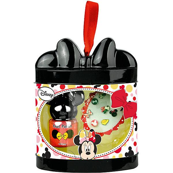 Набор детской косметики Minnie - Лак для ногтейНаборы детской косметики<br>Характеристики:<br><br>• Наименование: детская декоративная косметика<br>• Предназначение: для сюжетно-ролевых игр<br>• Серия: Микки Маус и его друзья<br>• Пол: для девочки<br>• Материал: натуральные косметические компоненты, пластик, картон<br>• Цвет: в ассортименте<br>• Комплектация: лак для ногтей, наклейки для ногтей<br>• Размеры (Д*Ш*В): 12*9*7 см<br>• Вес: 55 г <br>• Упаковка: картонная коробка с блистером<br><br>Игровой набор детской декоративной косметики для ногтей, Minnie – это набор игровой детской косметики от Markwins, которая вот уже несколько десятилетий специализируется на выпуске детской косметики. Рецептура декоративной детской косметики разработана совместно с косметологами и медиками, в основе рецептуры – водная основа, а потому она гипоаллергенны, не вызывает раздражений на детской коже и легко смывается, не оставляя следа. Безопасность продукции подтверждена международными сертификатами качества и безопасности. <br>Игровой набор детской декоративной косметики состоит средств для создания модного и яркого маникюра: лака и наклеек для ногтей. Косметические средства, входящие в состав набора, имеют длительный срок хранения – 12 месяцев. Набор выполнен в брендовом дизайне популярной серии Микки Маус и его друзья. Игровой набор детской декоративной косметики от Markwins может стать незаменимым праздничным подарком для любой маленькой модницы!<br><br>Игровой набор детской декоративной косметики для ногтей, Minnie можно купить в нашем интернет-магазине.<br>Ширина мм: 90; Глубина мм: 120; Высота мм: 50; Вес г: 78; Возраст от месяцев: 48; Возраст до месяцев: 120; Пол: Женский; Возраст: Детский; SKU: 5124711;