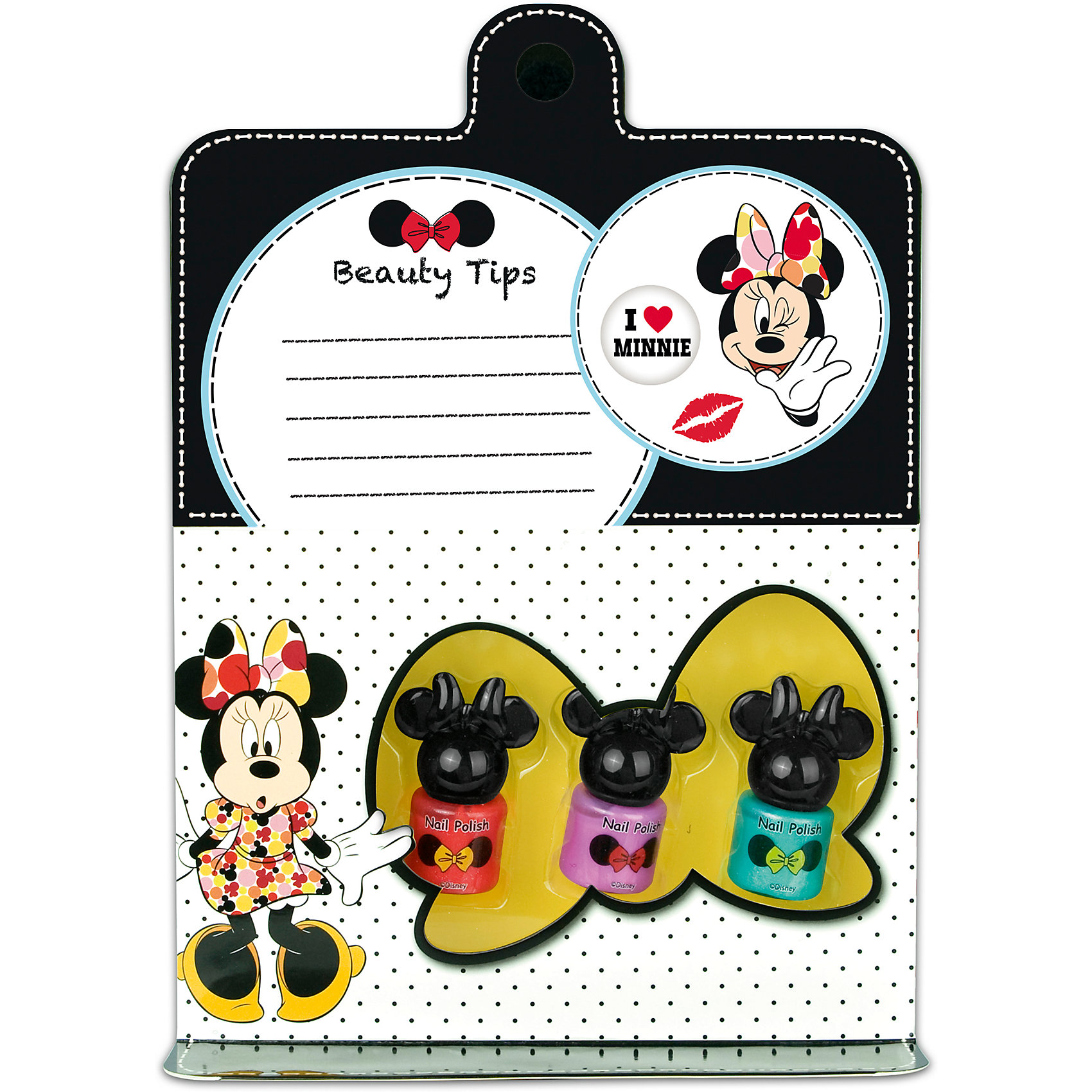 Markwins Набор детской косметики Minnie - Лак для ногтей