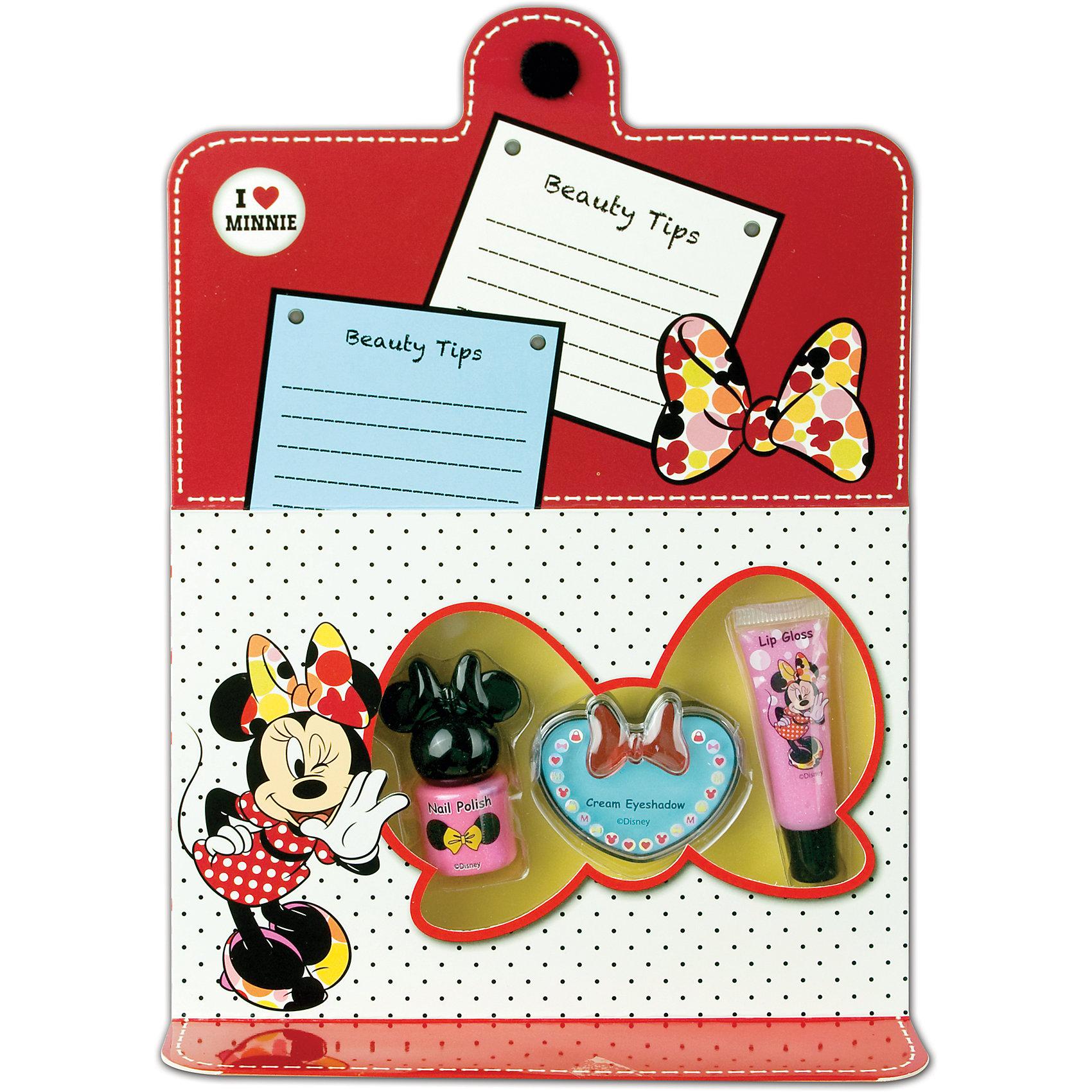 Markwins Игровой набор детской декоративной косметики для лица и ногтей, Минни Маус markwins игровой набор детской декоративной косметики для лица и ногтей минни маус