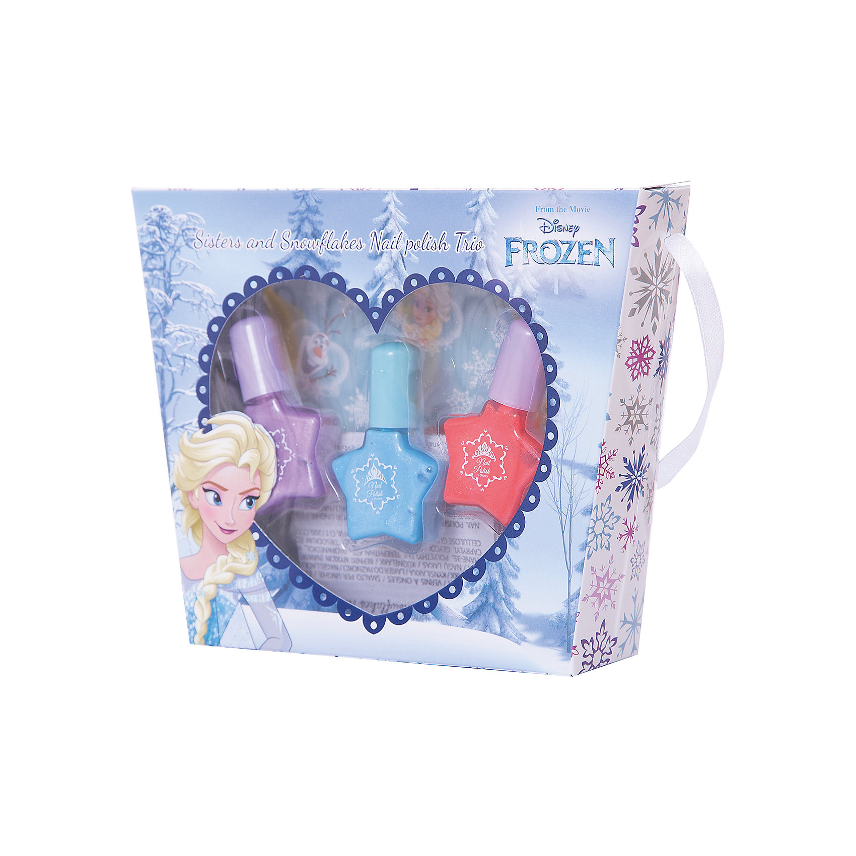 Markwins Игровой набор детской декоративной косметики Эльза, Холодное сердце winx club набор детской декоративной косметики радужное сияние