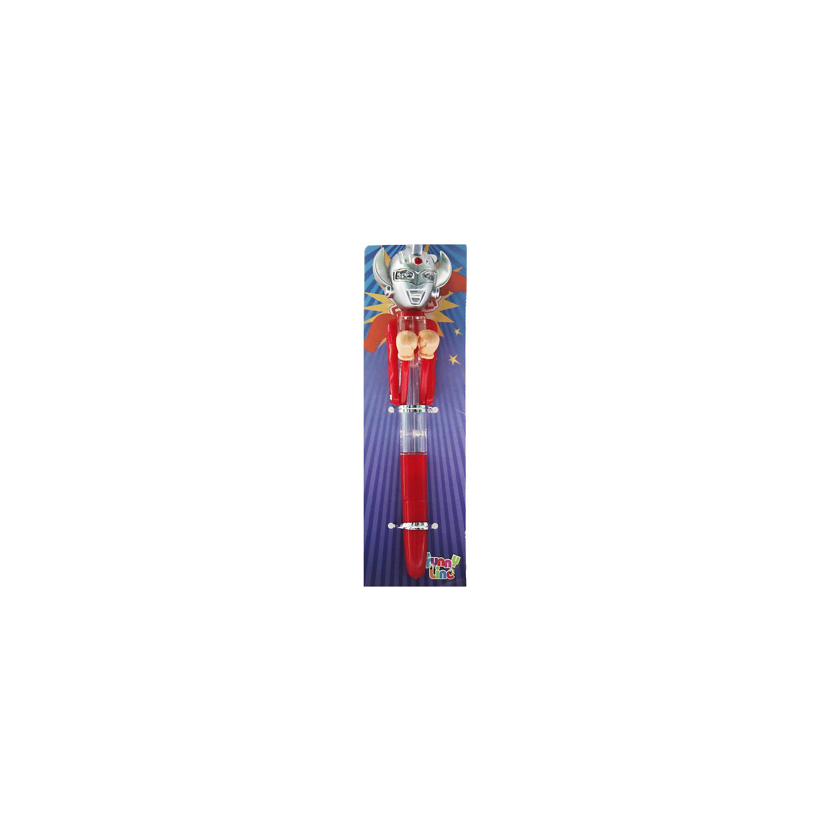 Ручка Боксер Инопланетный ЗахватчикПисьменные принадлежности<br>Характеристики:<br><br>• Предназначение: канцелярские принадлежности, оригинальный подарок<br>• Материал: пластик<br>• Тип ручки: шариковая<br>• Цвет чернил: темно-синий<br>• Комплектация: ручка, колпачок<br>• На корпусе имеются кнопки, которые активируют боксерские перчатки<br>• Упаковка: картонная подложка<br>• Размеры упаковки (Д*Ш*В): 3*3*17 см<br>• Вес в упаковке: 100 г<br><br>Корпус ручки выполнен из безопасного и ударопрочного пластика, устойчивого к появлению царапин и сколов. Ручка выполнена в необычном оригинальном дизайне: ее корпус оформлен в виде инопланетятина с боксерскими перчатками. Перчатки приводятся в действие за счет двух кнопок.<br><br>Ручку Боксер Инопланетный Захватчик можно купить в нашем интернет-магазине.<br><br>Ширина мм: 30<br>Глубина мм: 30<br>Высота мм: 170<br>Вес г: 100<br>Возраст от месяцев: 72<br>Возраст до месяцев: 144<br>Пол: Унисекс<br>Возраст: Детский<br>SKU: 5124750