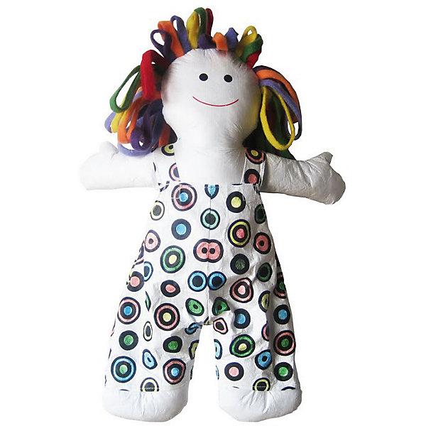 Урок Рисования Игрушка Разукрашка - Куколка 42смНаборы для раскрашивания<br>Характеристики товара:<br><br>• габариты: высота 42 см<br>• возраст: 3+<br>• материал: текстиль<br>• комплектация: игрушка, фломастеры<br>• страна производства: Китай<br><br>Любовь к рисованию у многих детей появляется в раннем детстве. Зачастую, выглядит это не стандартным способом, а творчеством на игрушках и всевозможных предметах. Новая игрушка разработана специально для таких случаев. Игрушку можно раскрашивать фломастерами много раз. В комплект входят фломастеры четырех цветов. Материалы, использованные при изготовлении товара, сертифицированы и отвечают всем международным требованиям по качеству. <br><br>Набор «Урок Рисования Игрушка Разукрашка - Куколка 42 см» можно приобрести в нашем интернет-магазине.<br>Ширина мм: 60; Глубина мм: 200; Высота мм: 400; Вес г: 100; Возраст от месяцев: 36; Возраст до месяцев: 84; Пол: Женский; Возраст: Детский; SKU: 5124788;