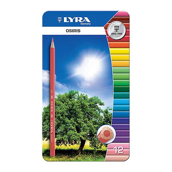 Цветные треугольные карандаши в металлическом пенале, 12 шт.Письменные принадлежности<br>Цветные треугольные карандаши в металлическом пенале, 12 шт.  Диаметр грифеля 2,8 мм. Экономичная линейка карандашей<br>Ширина мм: 12; Глубина мм: 190; Высота мм: 113; Вес г: 150; Возраст от месяцев: 36; Возраст до месяцев: 84; Пол: Унисекс; Возраст: Детский; SKU: 5124953;