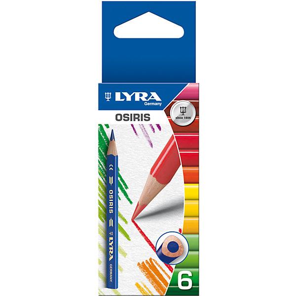 Цветные укороченные треугольные карандаши, 6 шт.Письменные принадлежности<br>Цветные укороченные. треугольные карандаши, 6 шт.  Диаметр грифеля 2,8 мм.  Экономичная линейка карандашей<br>Ширина мм: 10; Глубина мм: 128; Высота мм: 49; Вес г: 21; Возраст от месяцев: 36; Возраст до месяцев: 84; Пол: Унисекс; Возраст: Детский; SKU: 5124957;